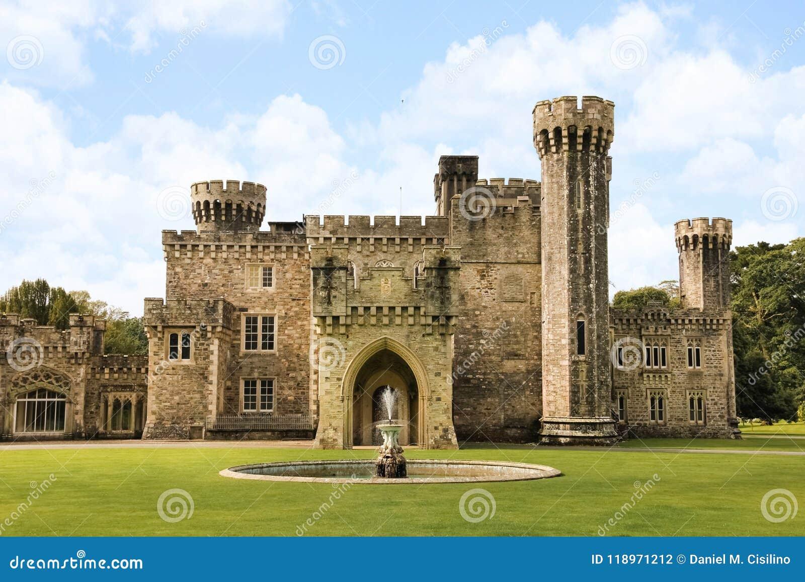Замок Джонстаун графство Wexford Ирландия