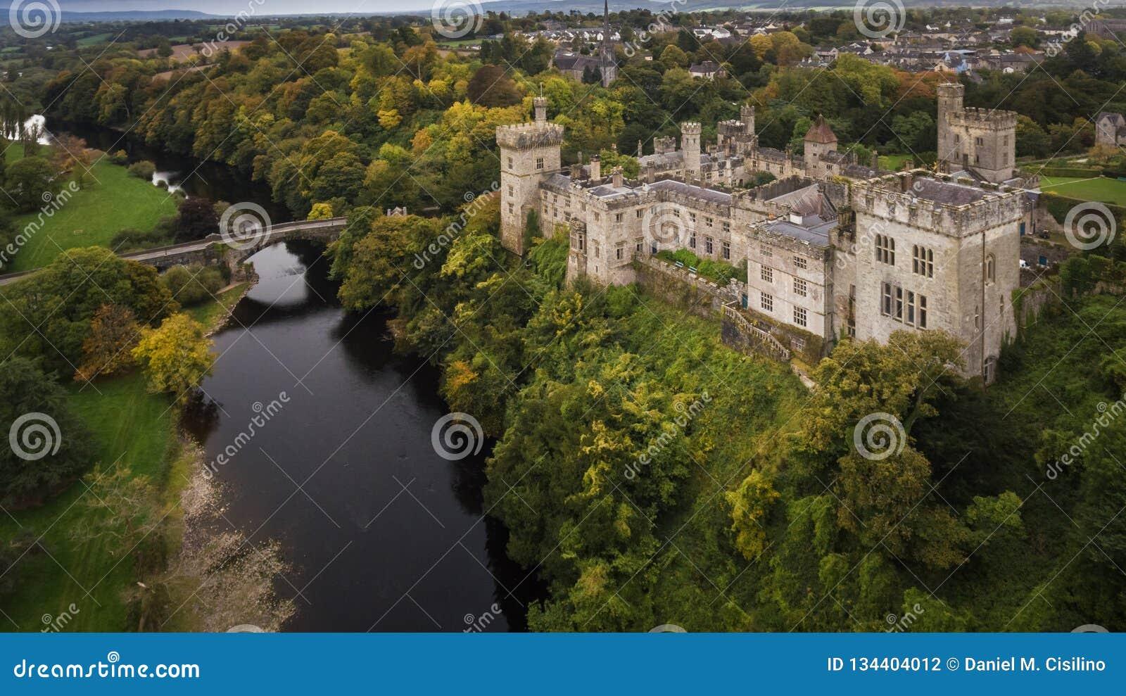 Замок и сады Lismore Графство Уотерфорд Ирландия