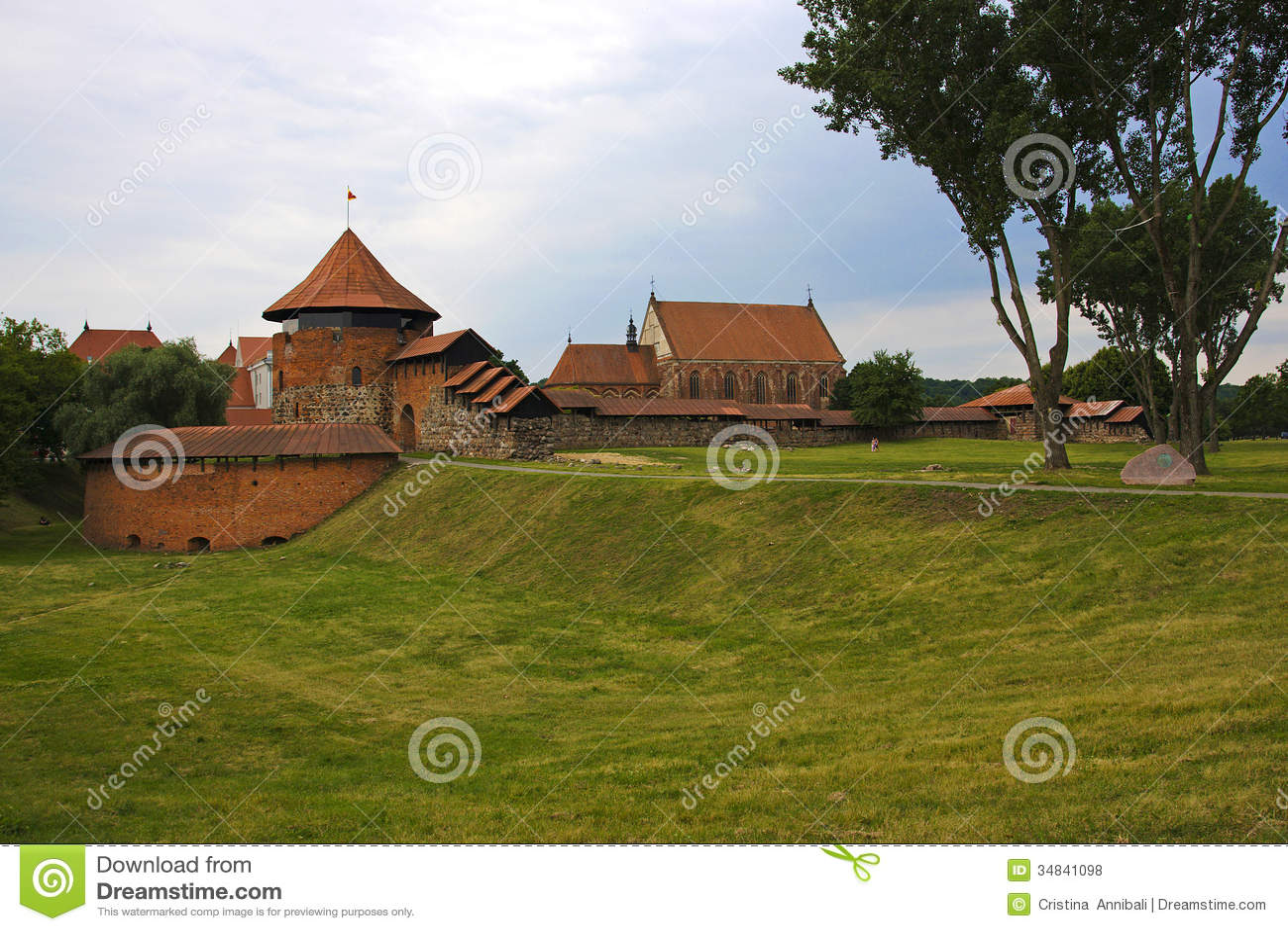 Замок Каунаса в Литве