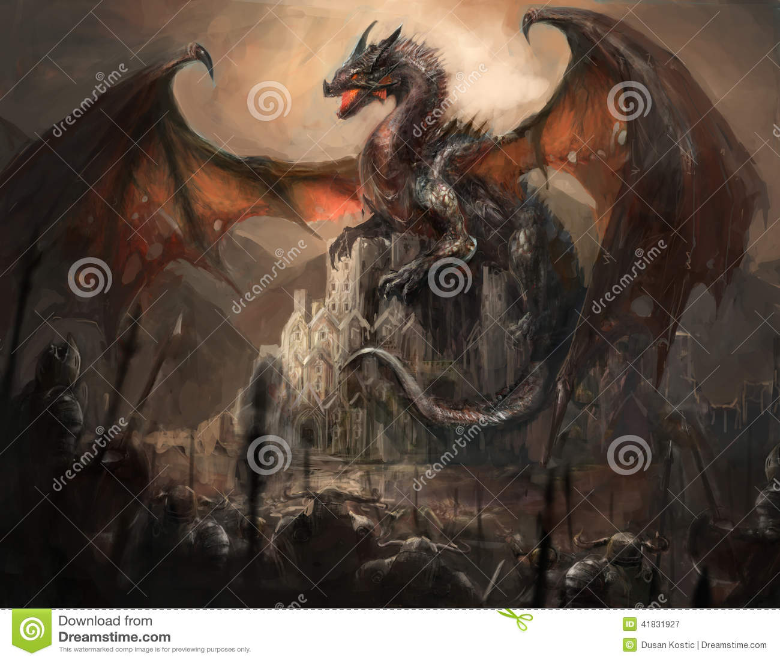 Замок дракона