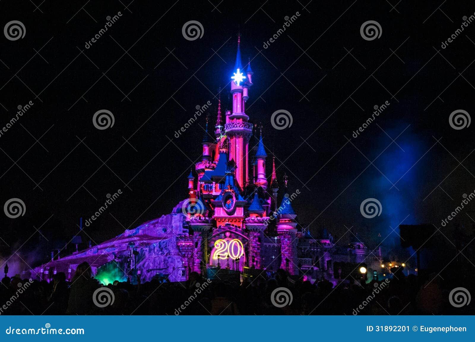 Замок сказки в Франции