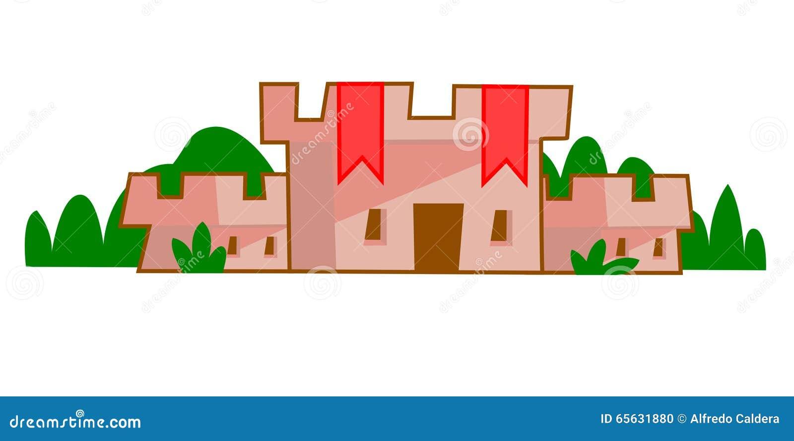 замок средневековый