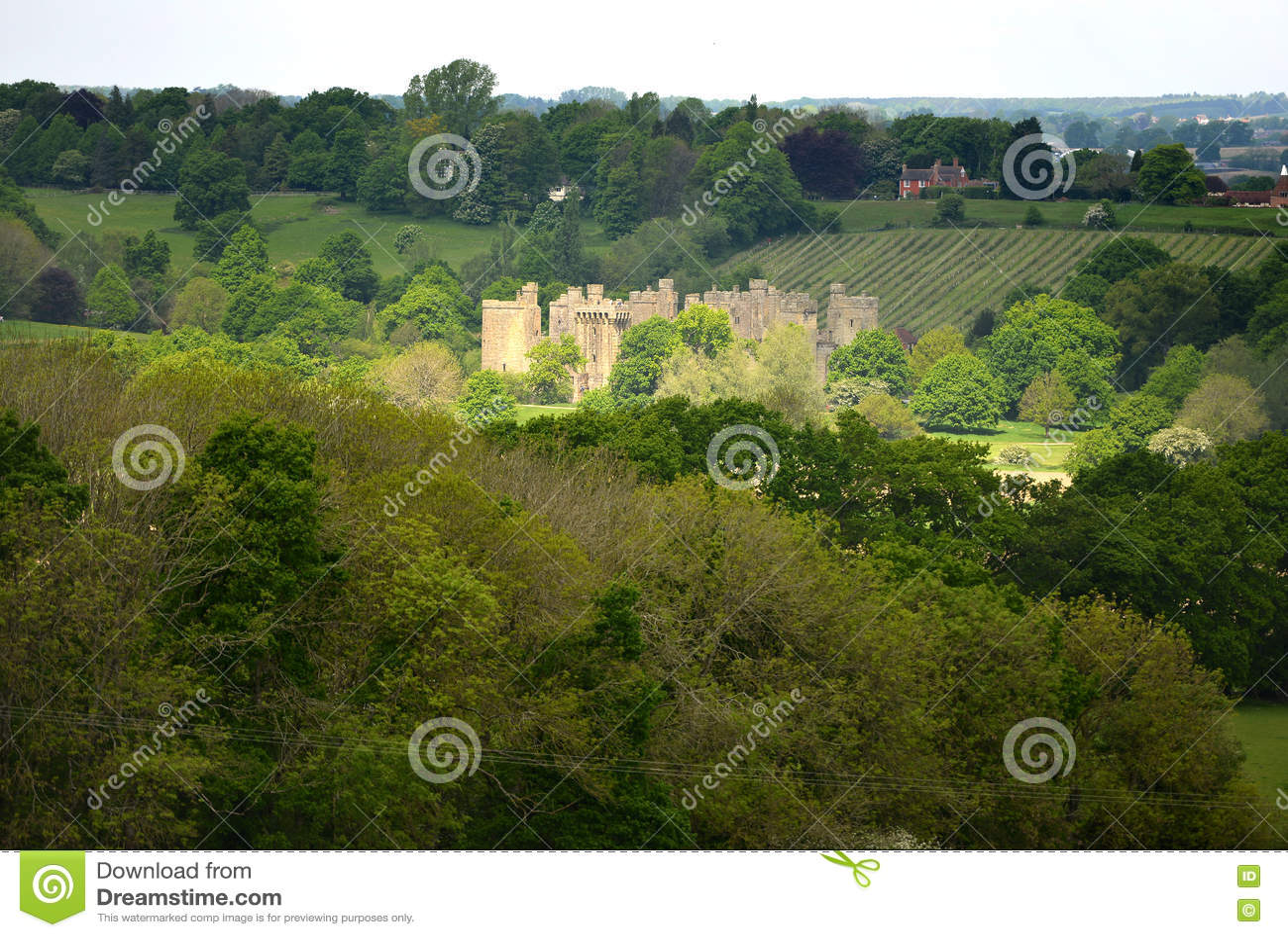 Замок Bodiam