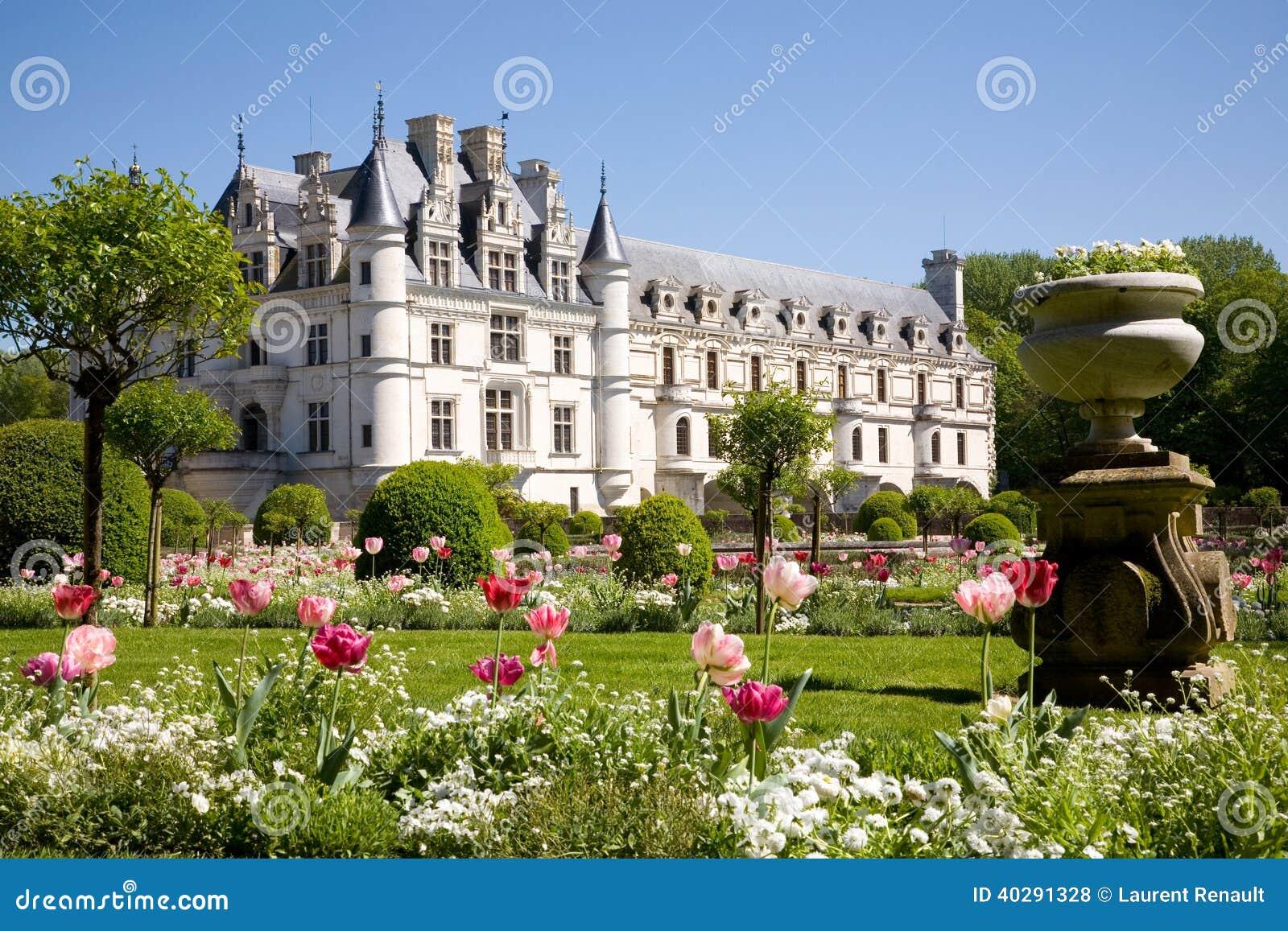 Замок de Chenonceau