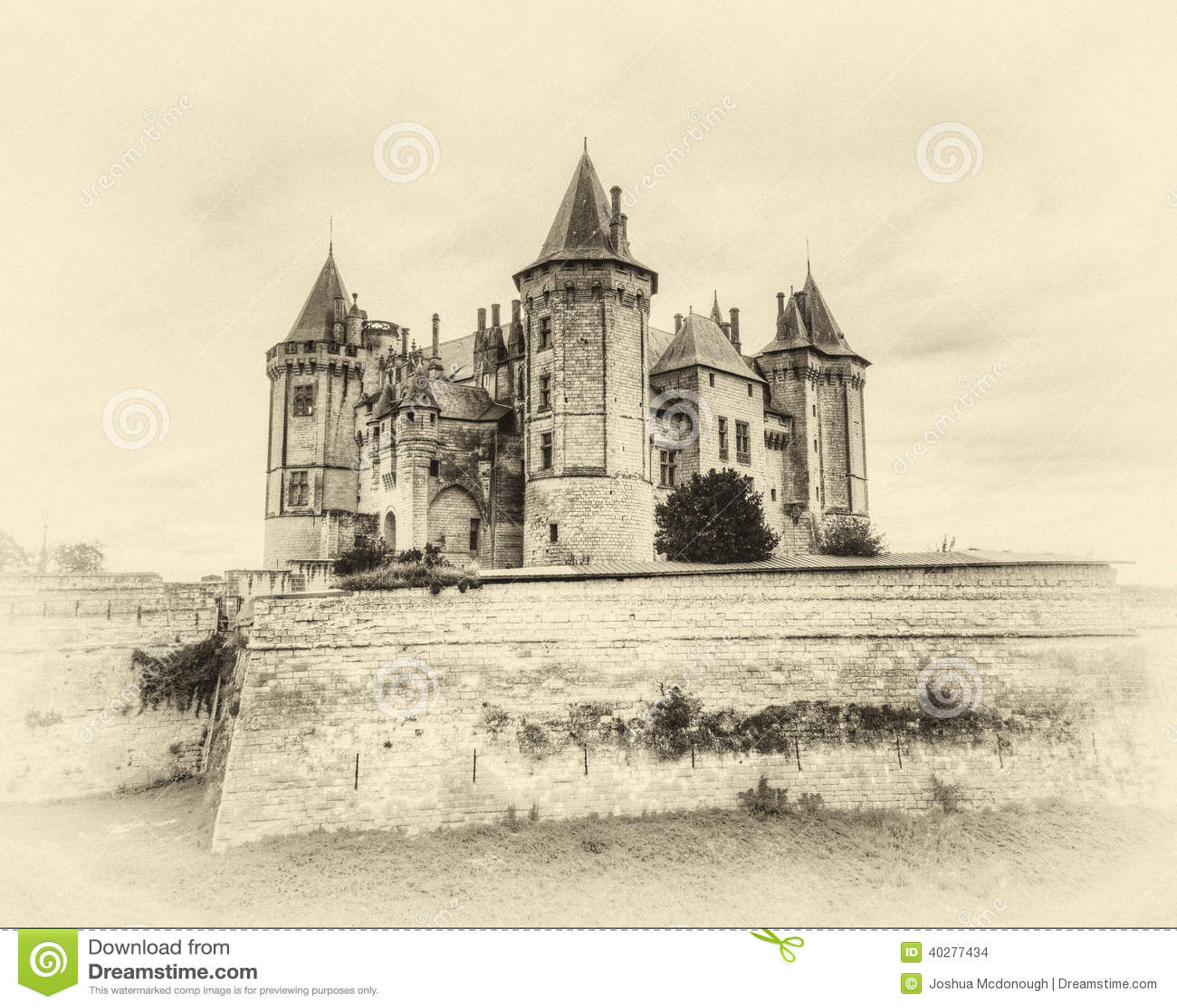 Замок de Saumur