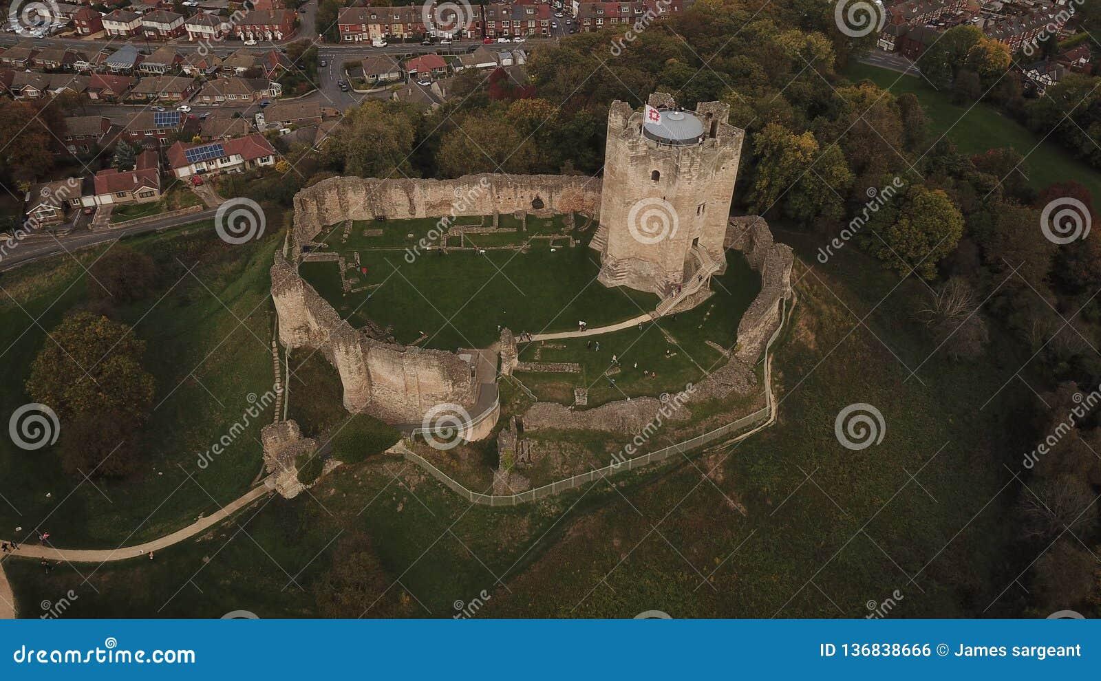 замок doncaster Англия Великобритания conisbrough