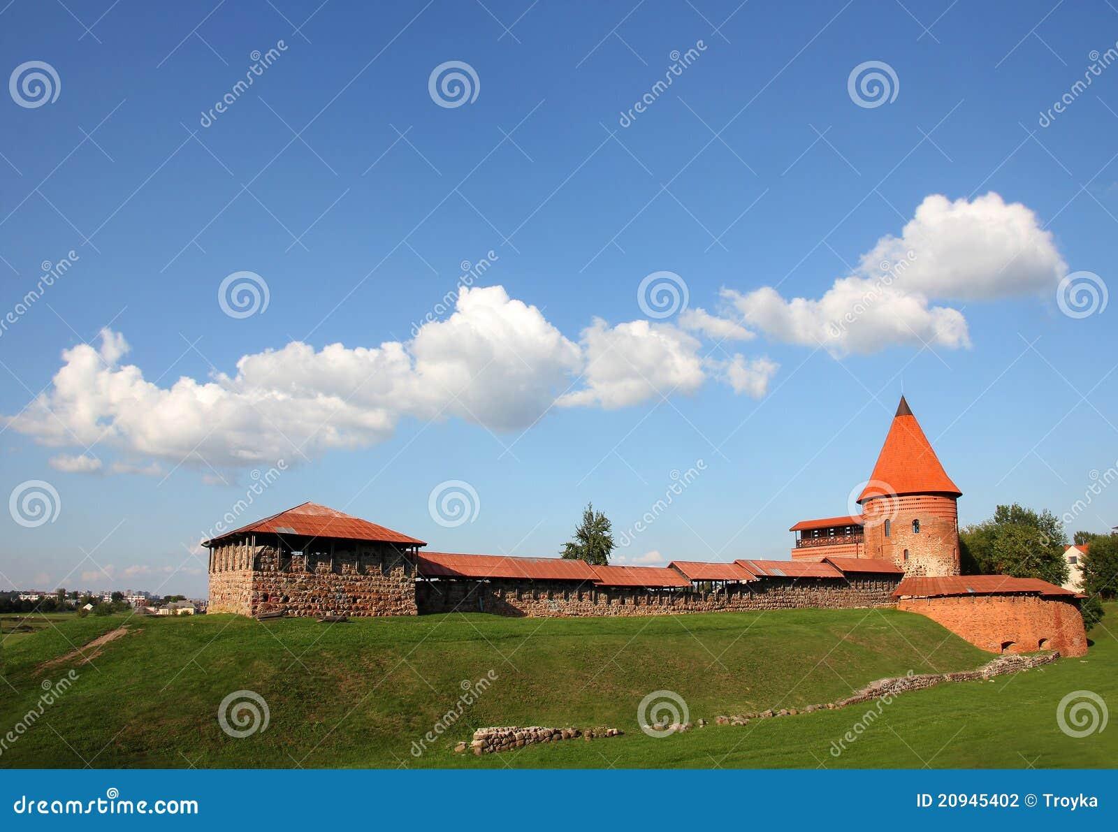 замок kaunas Литва старая