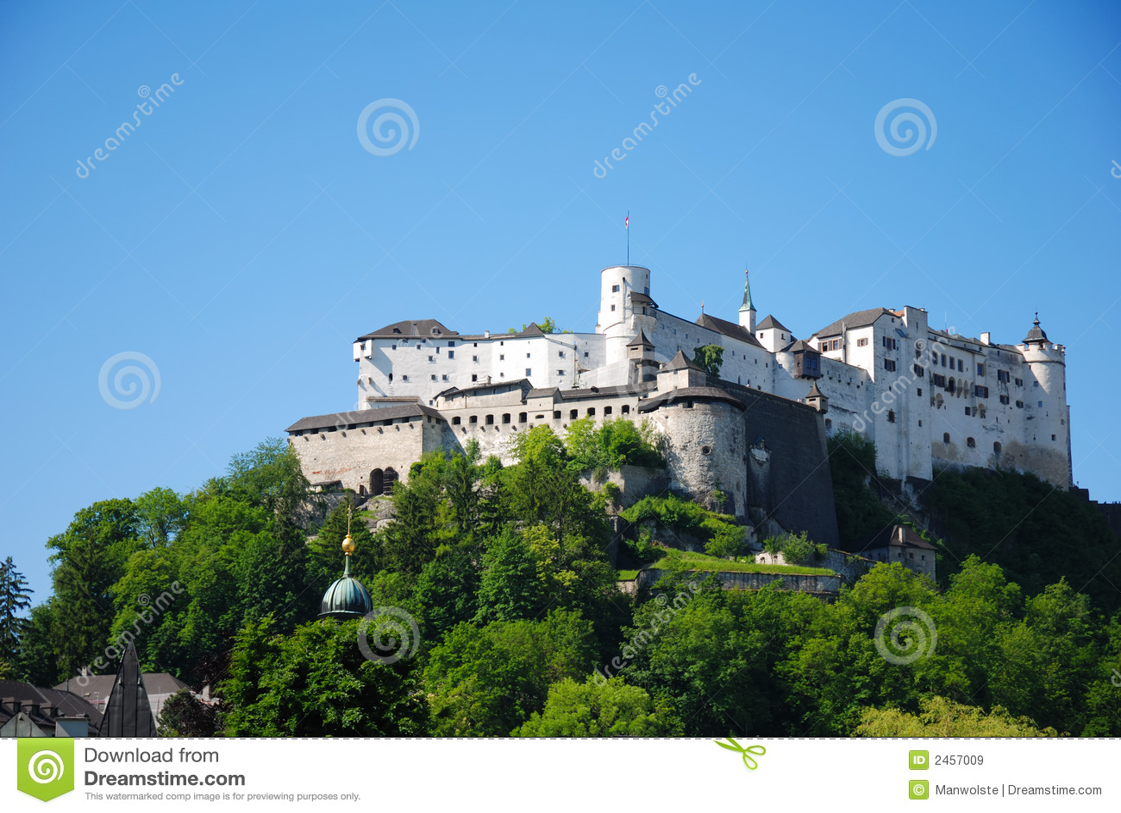 замок salzburg