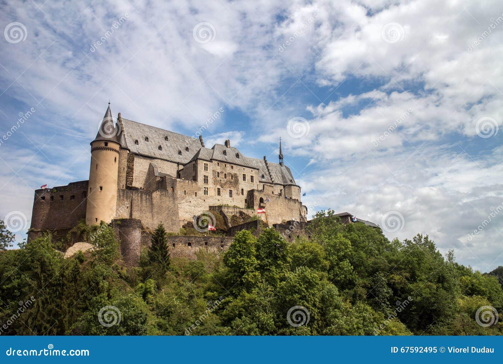 замок vianden