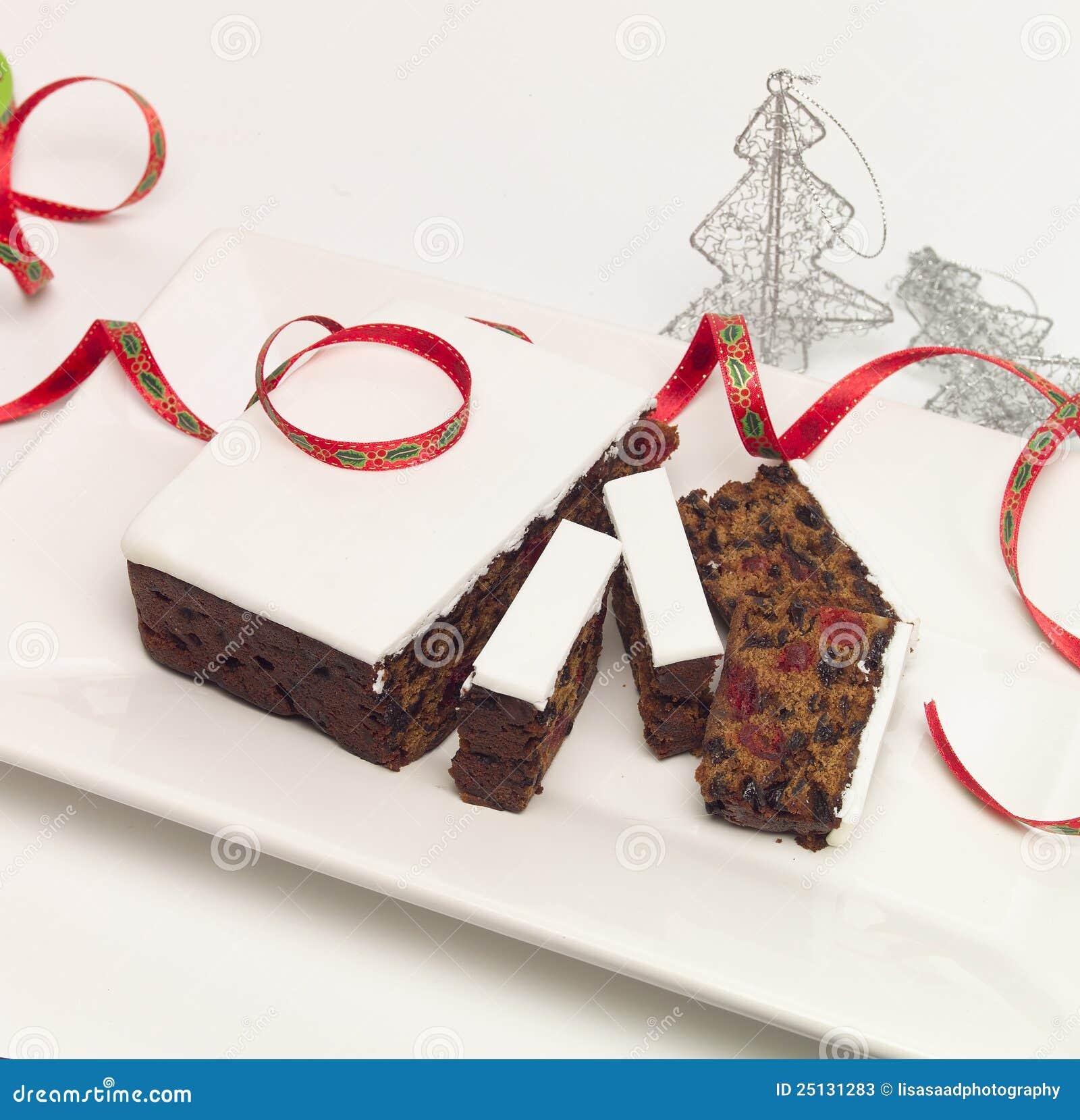 замороженный плодоовощ рождества торта