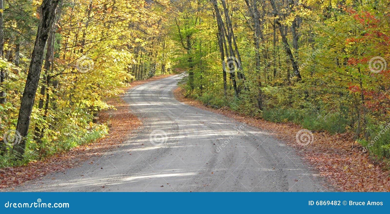 замотка проселочной дороги