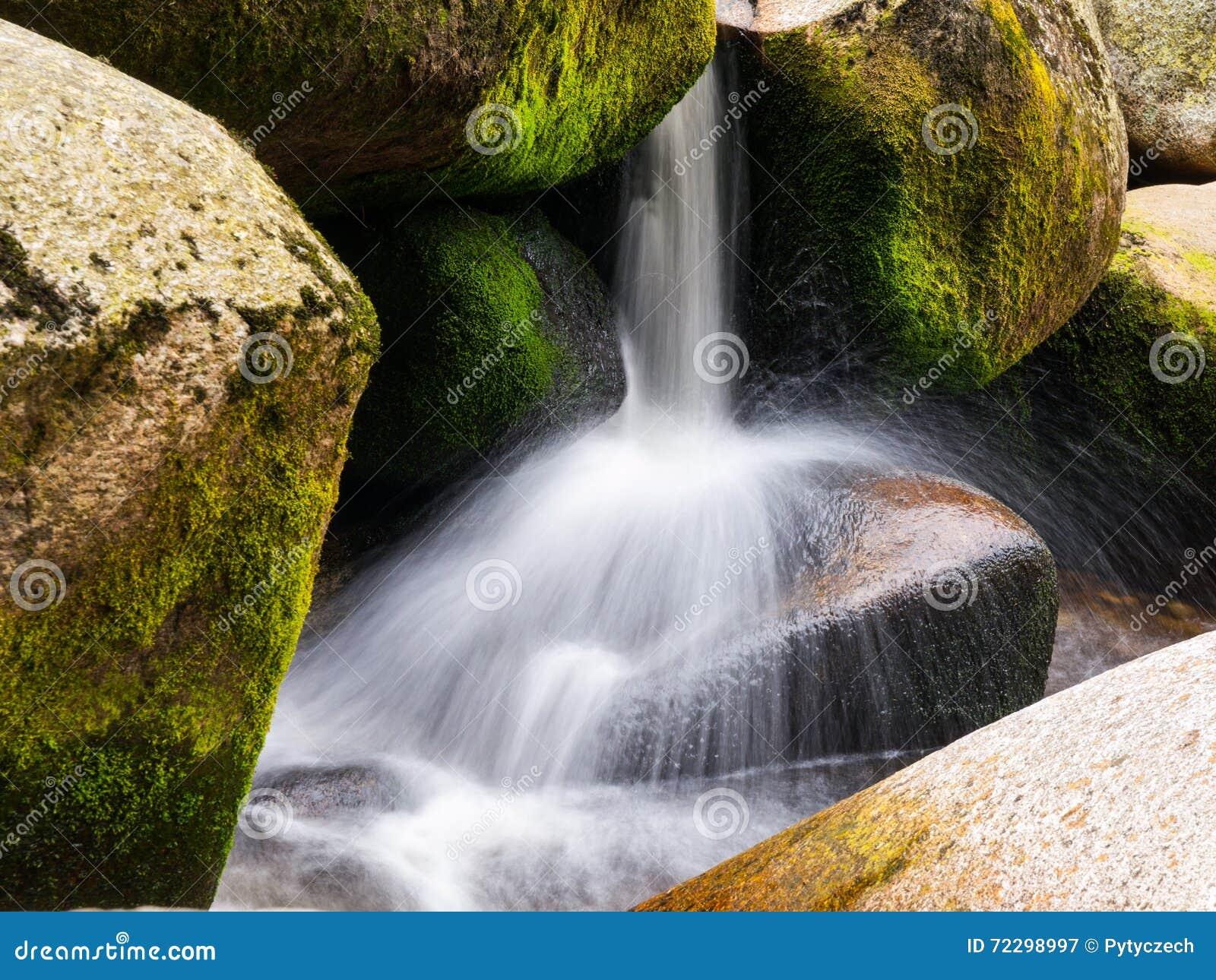Download Запачканная деталь потока реки Стоковое Изображение - изображение насчитывающей движение, парк: 72298997