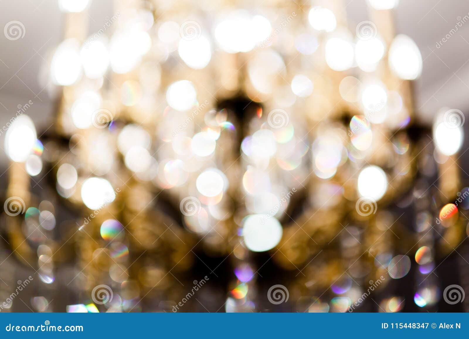 Запачканное фото абстракции, желтые пятна