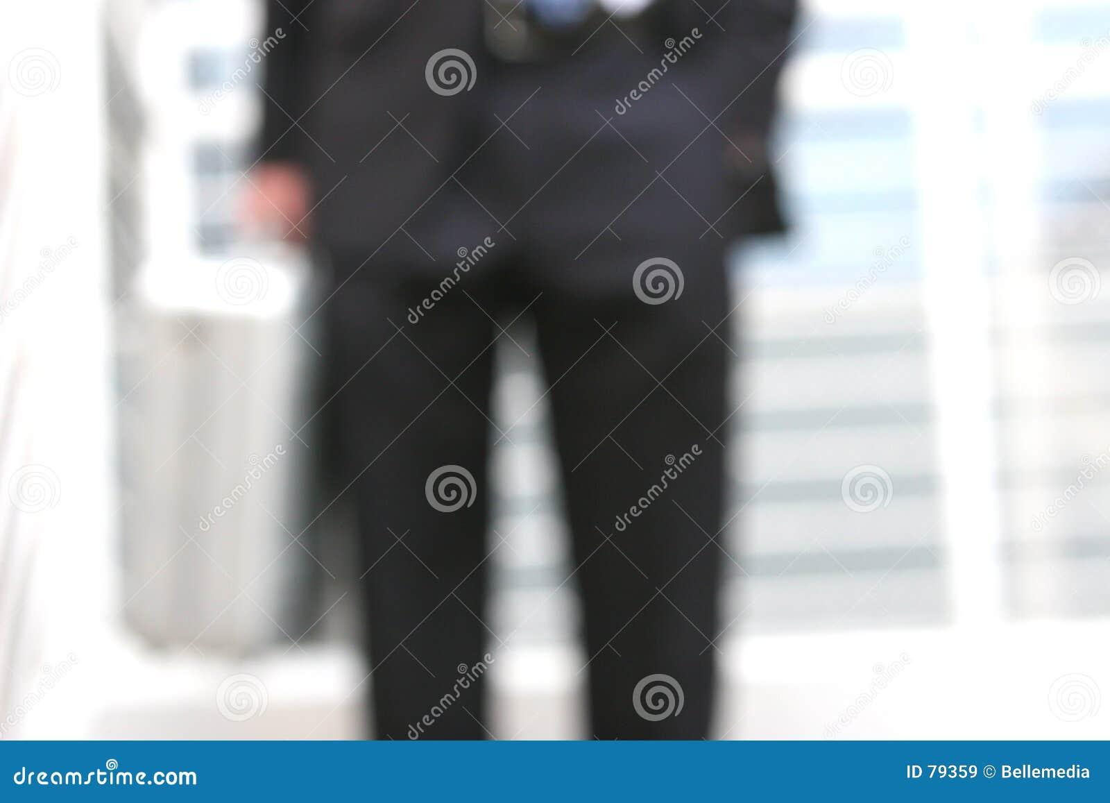 запачканный бизнесмен