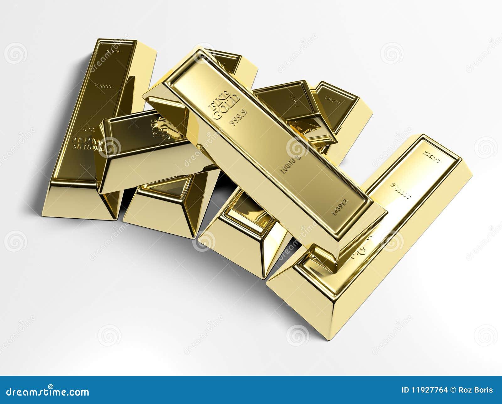 запирает золото