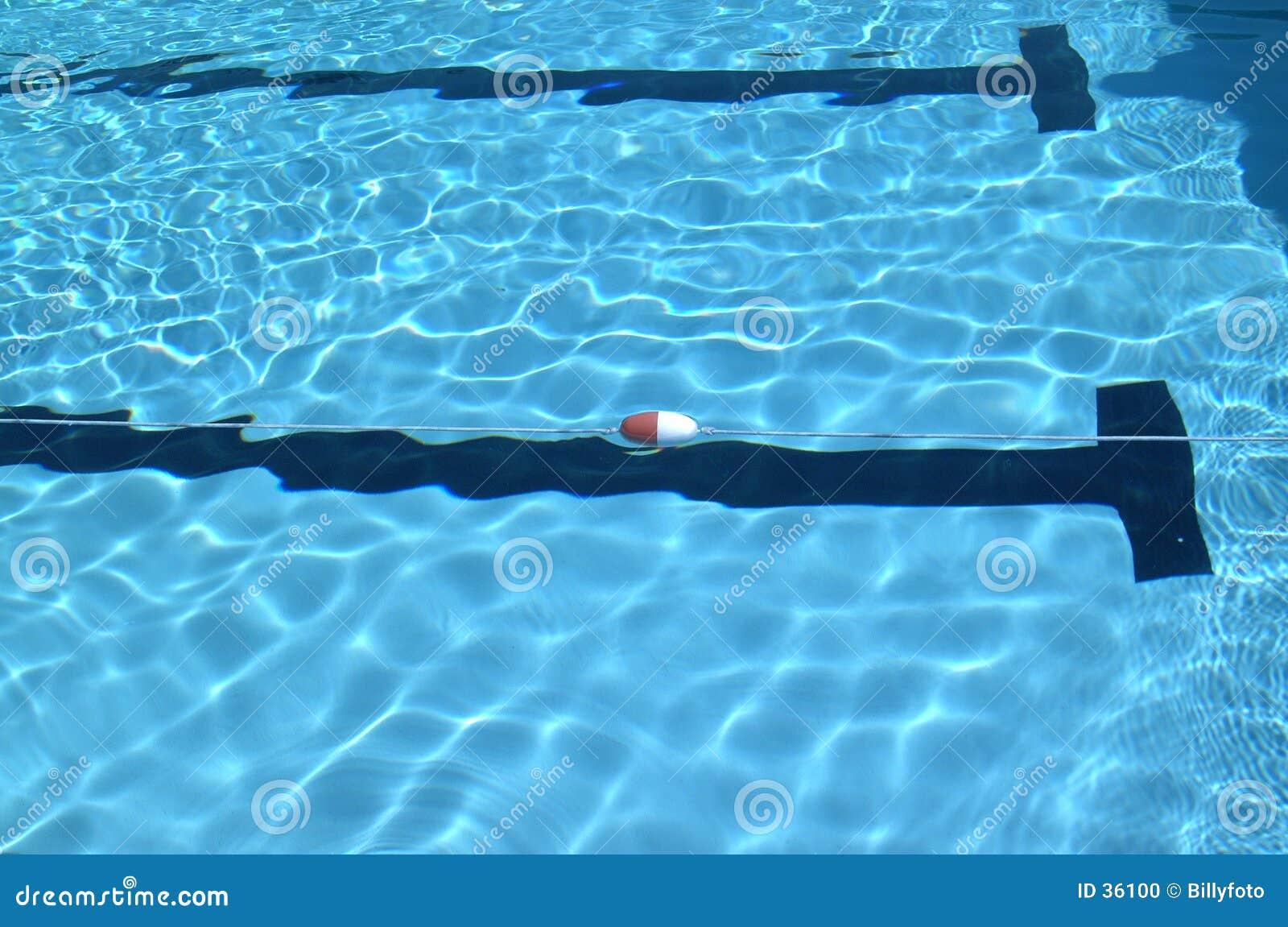 заплывание бассеина