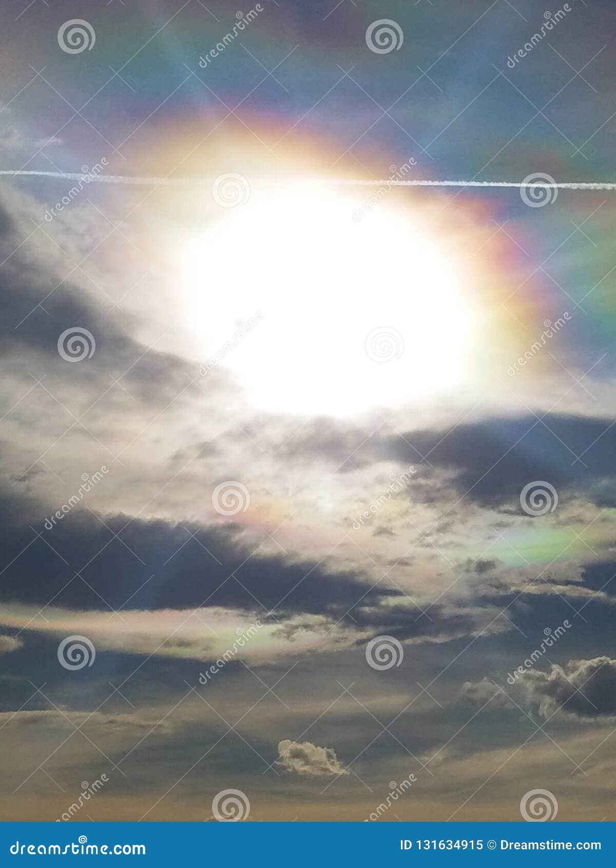 Зарево неба