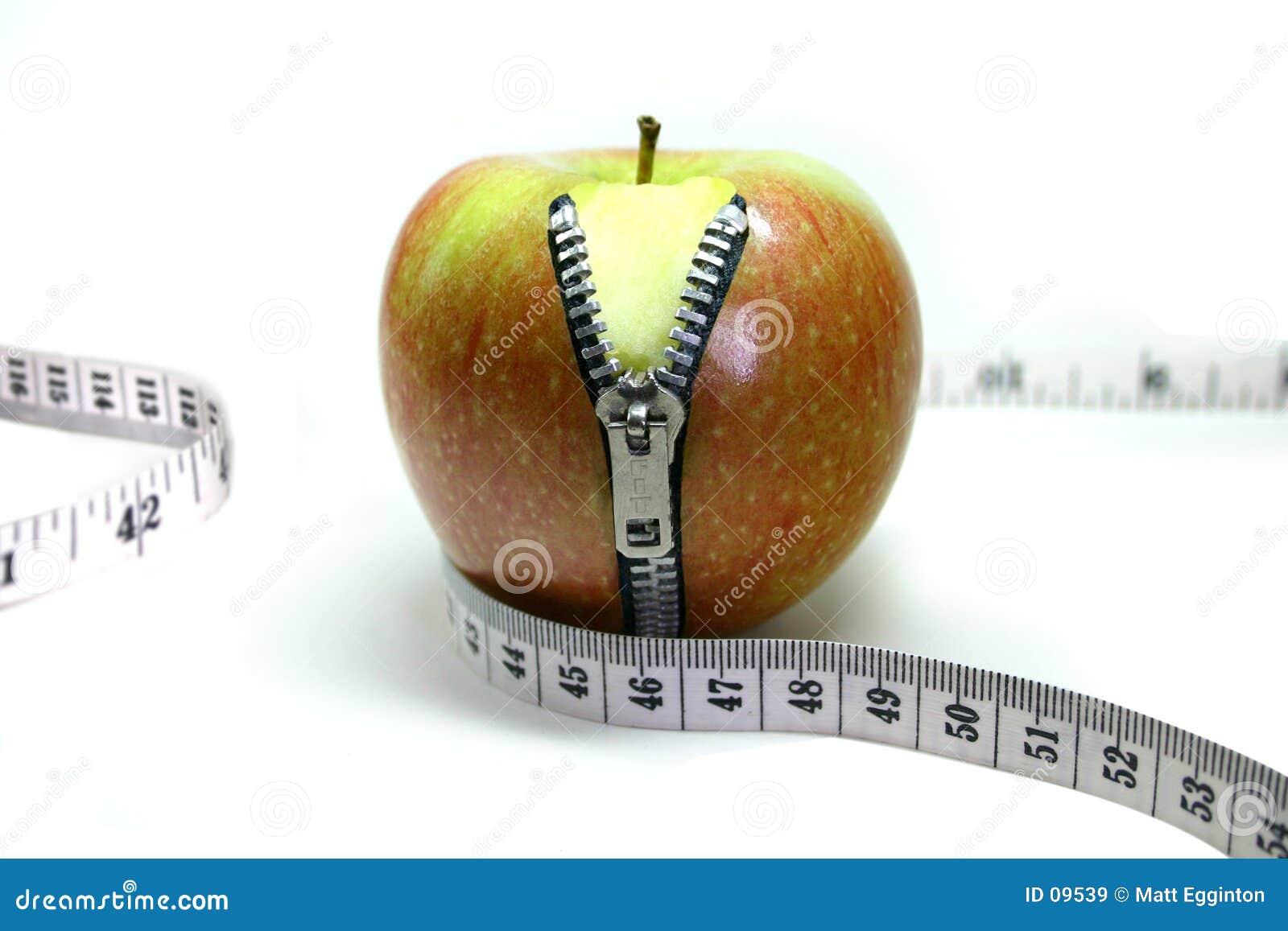 застежка-молния яблока