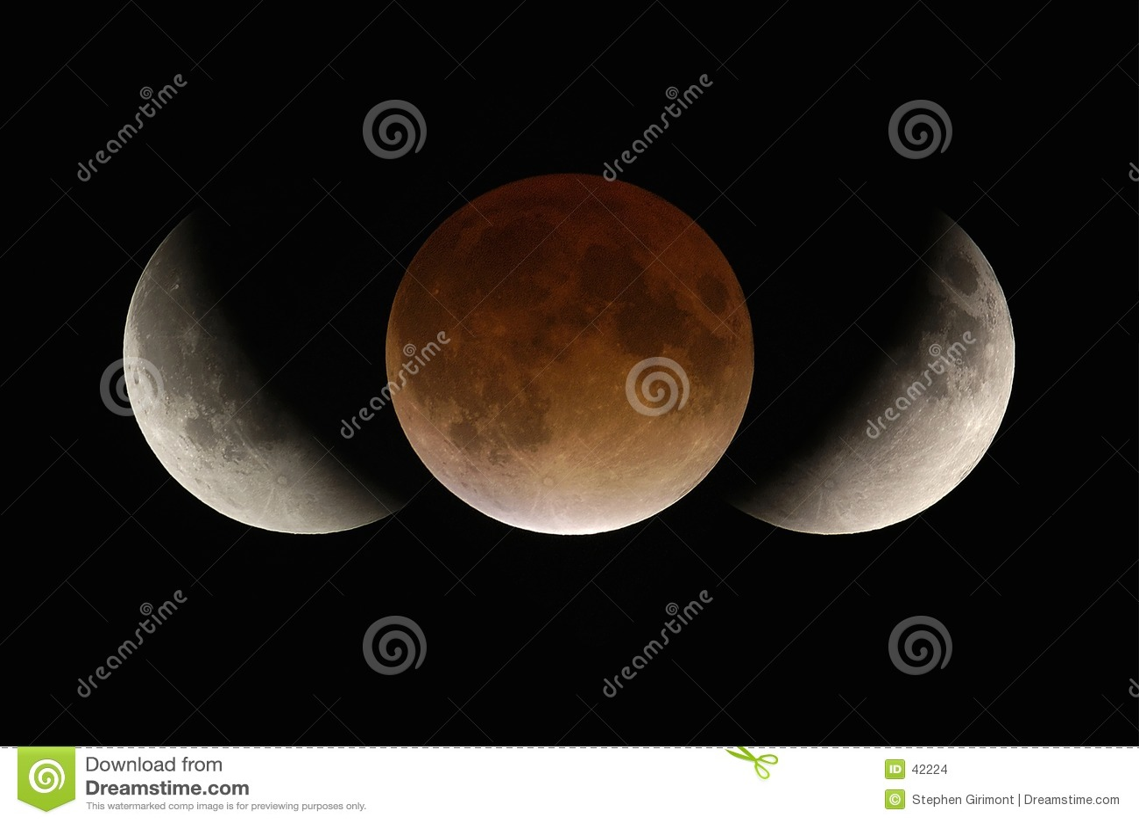 затмение лунное