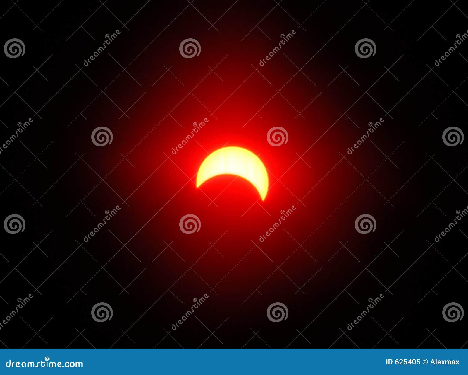 Download затмение 3 солнечное стоковое изображение. изображение насчитывающей холодно - 625405