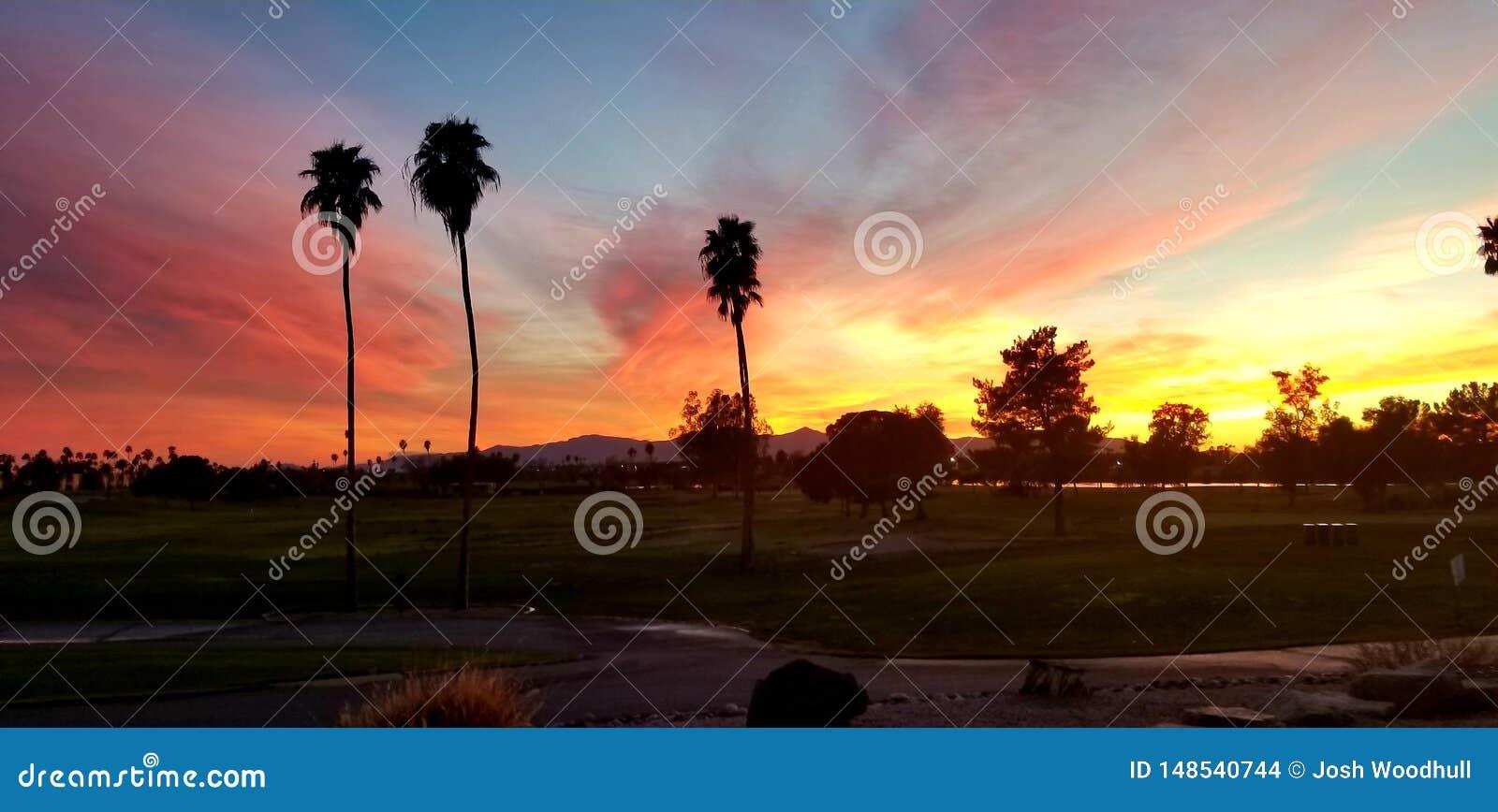 Заход солнца Аризоны