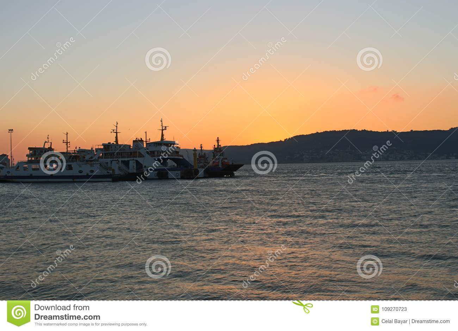 Заход солнца на Gallipoli