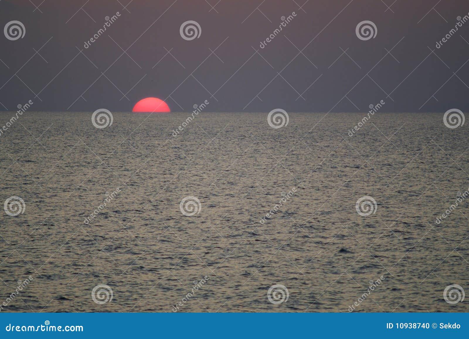 заход солнца Сардинии