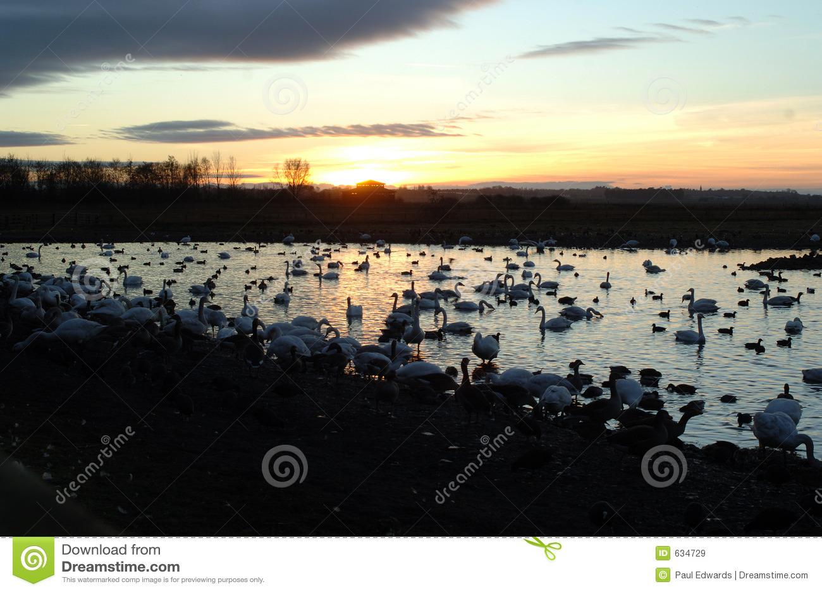 Download заход солнца стоковое изображение. изображение насчитывающей отражения - 634729