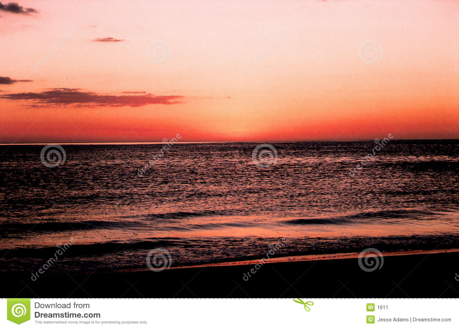 заход солнца florida