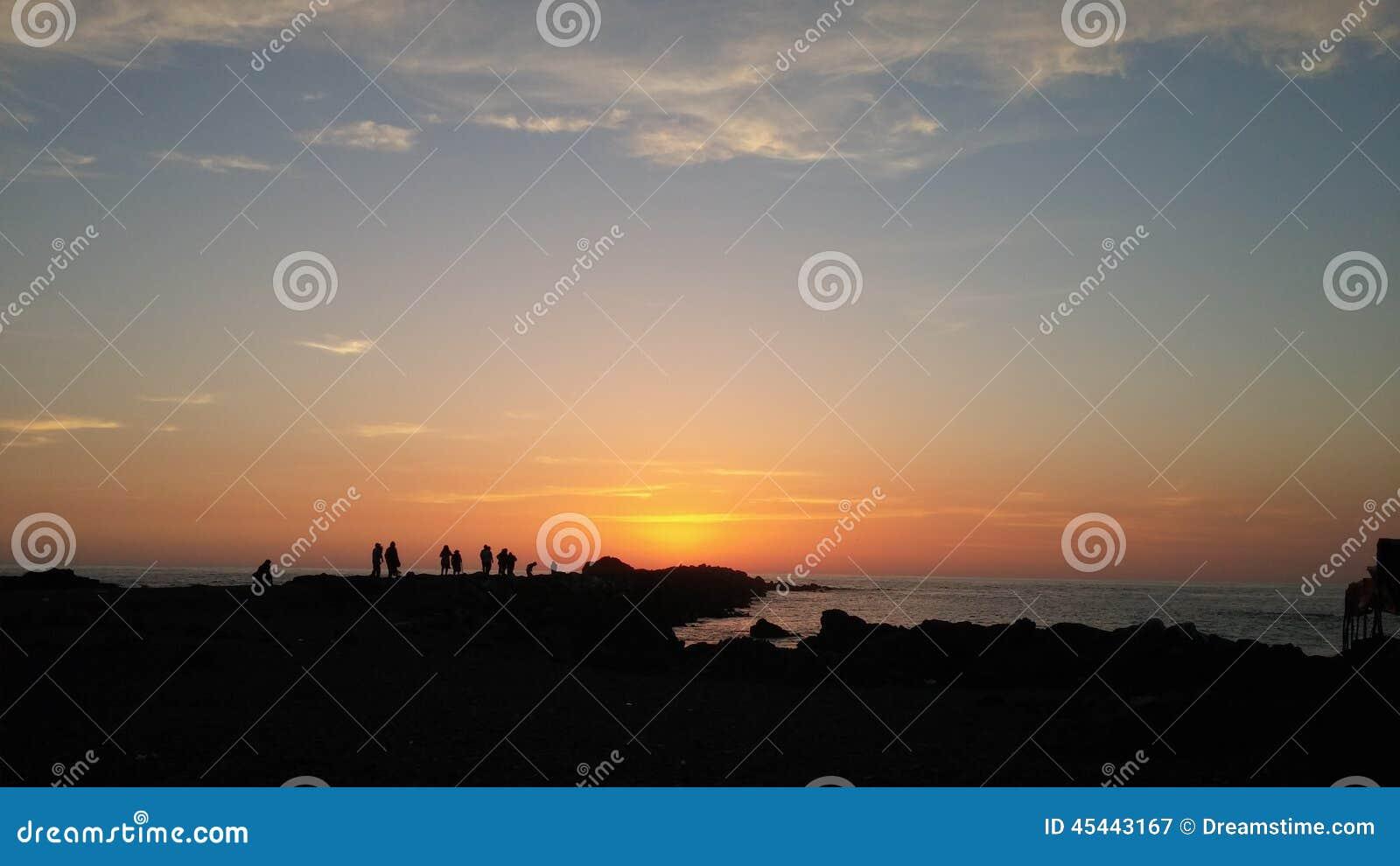 Заход солнца Перу