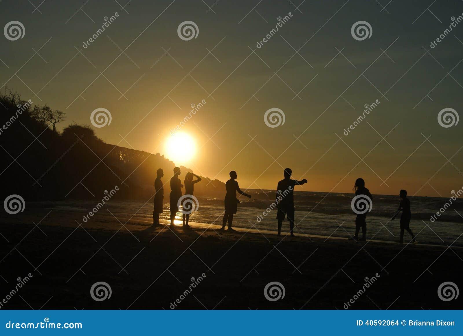 Заход солнца Hapuna