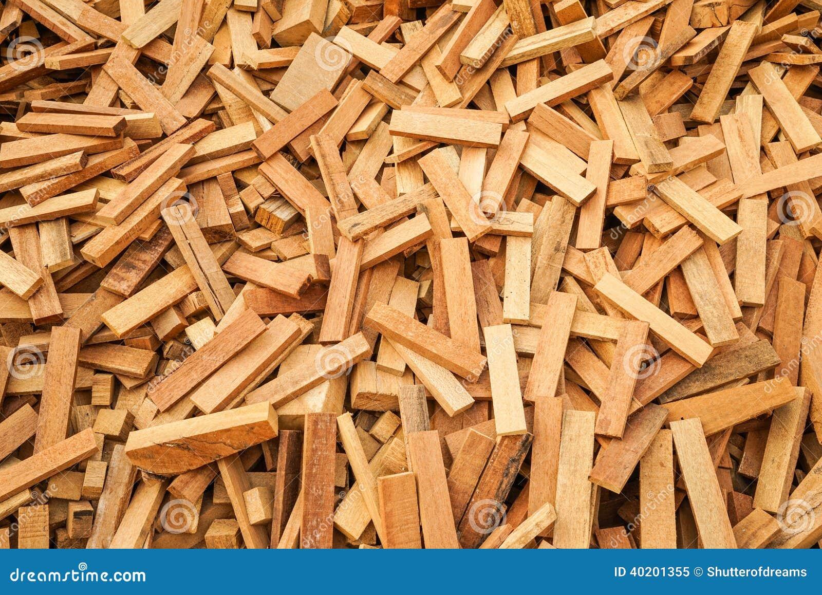 Зашейте деревянные утили