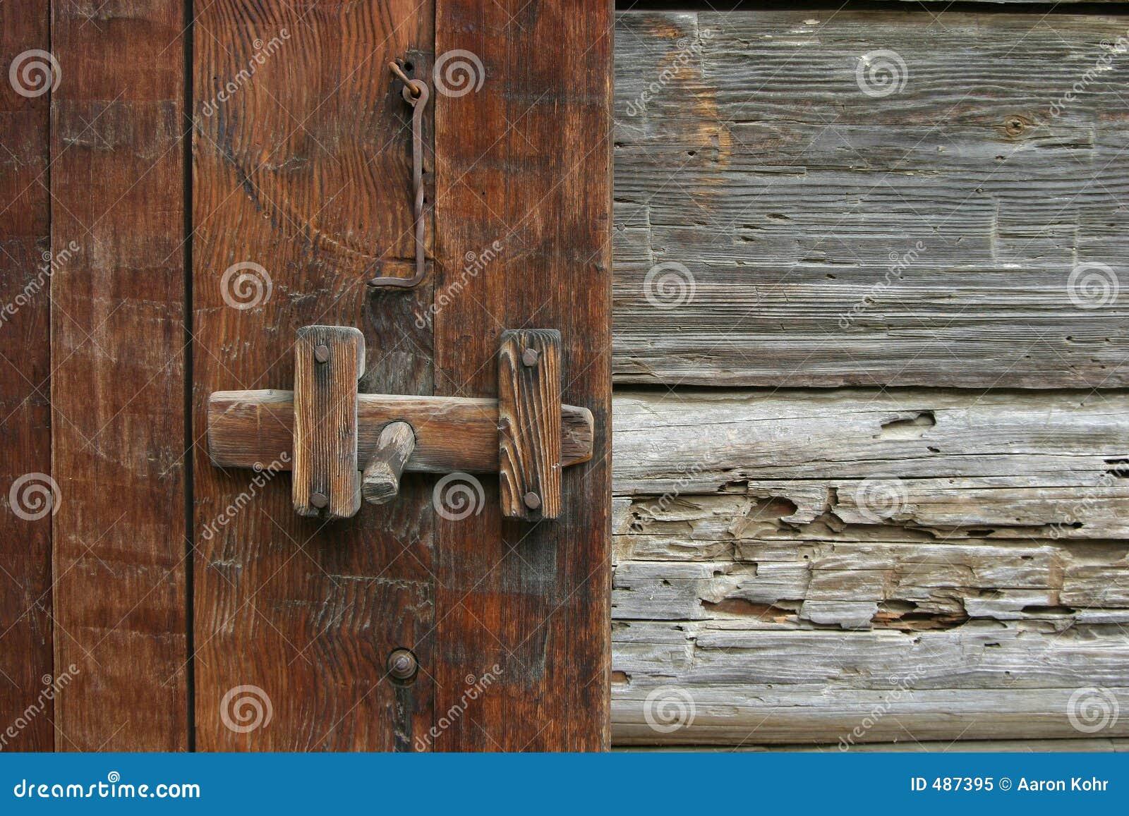 защелка двери деревенская