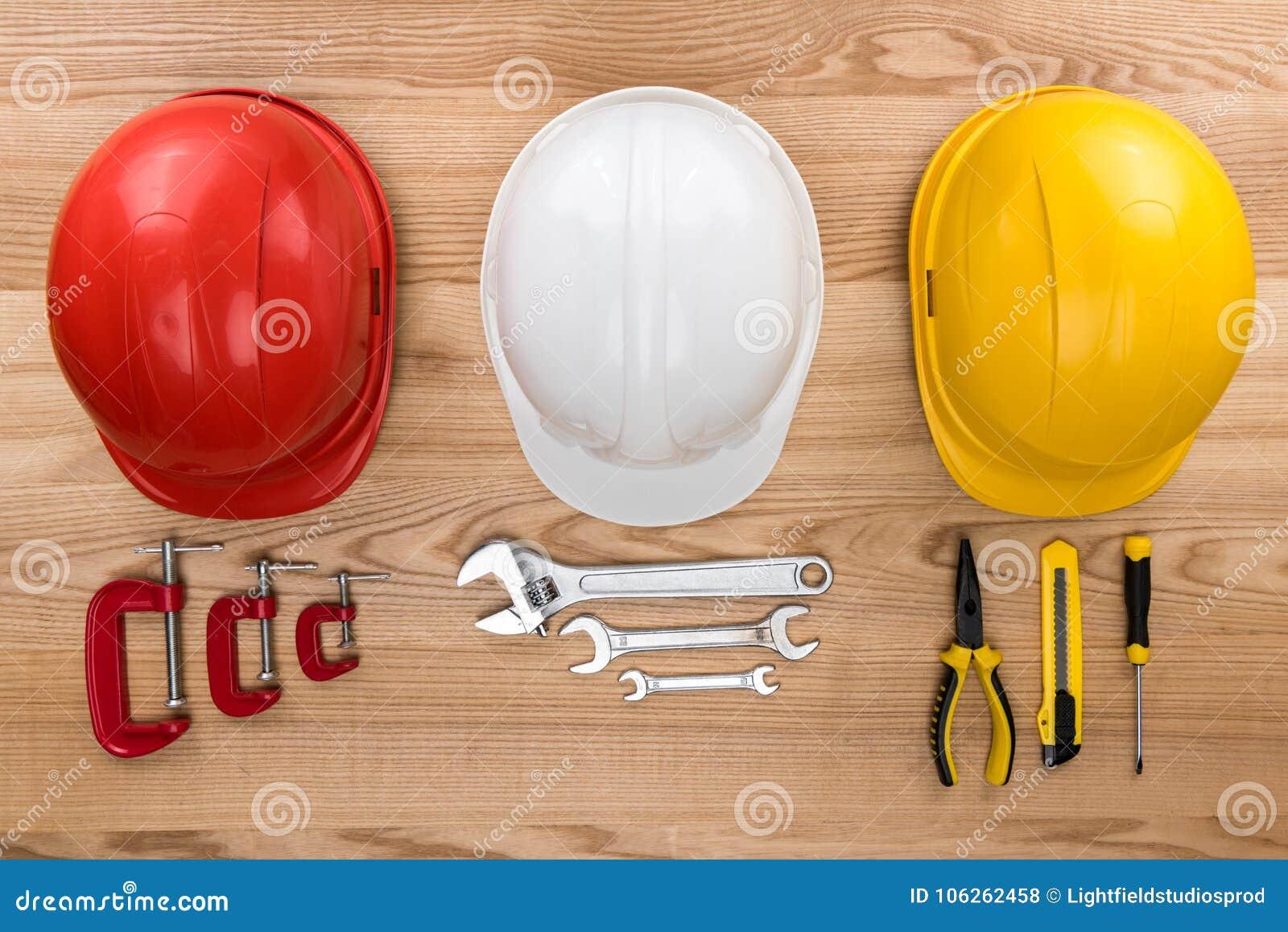 Защитные шлемы и инструменты reparement