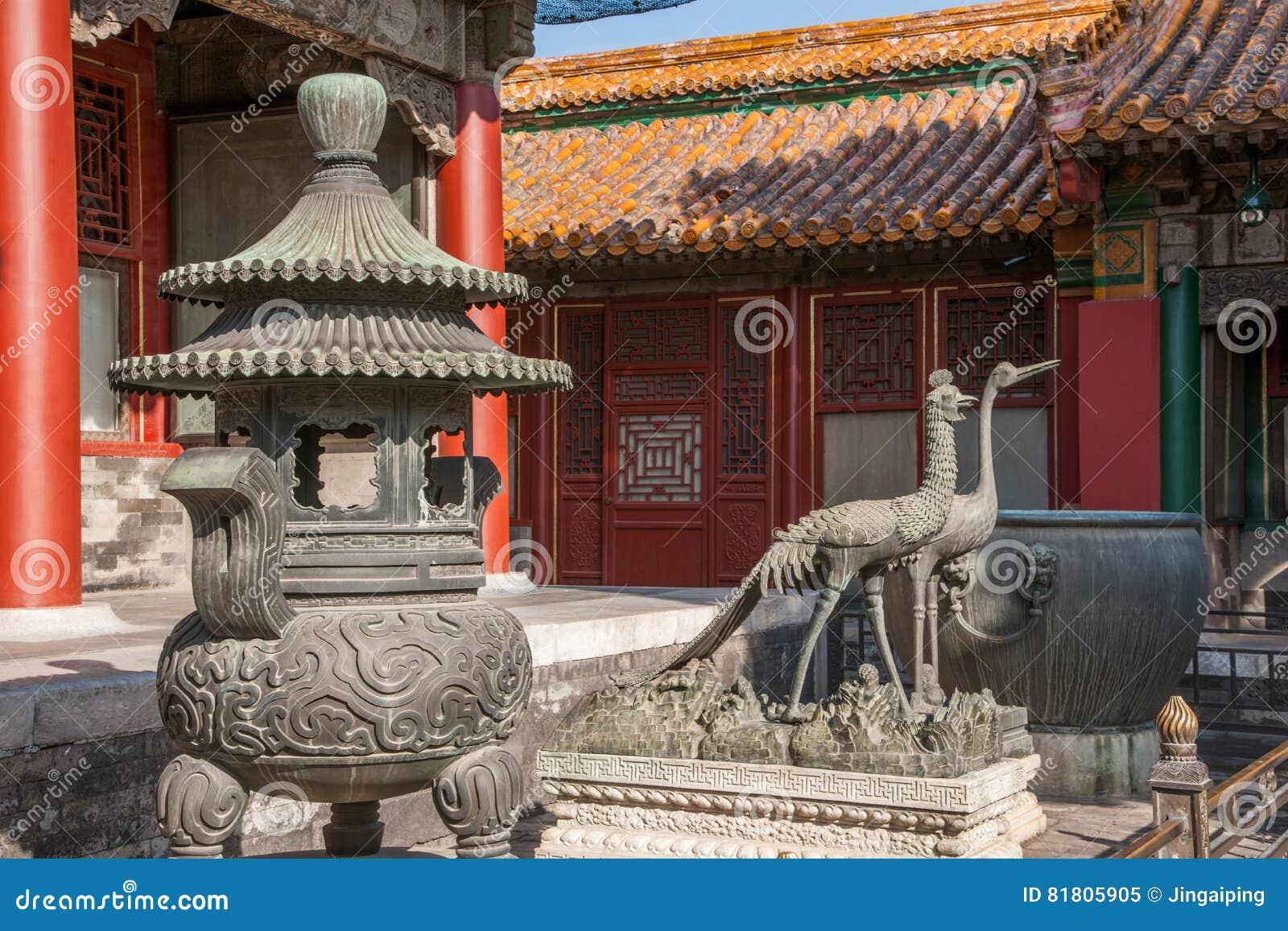 Задворк дворца Пекина имперская