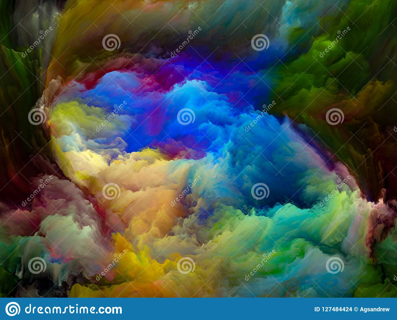 За движением цвета