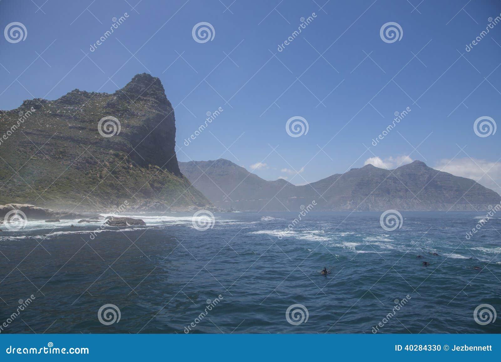 Залив Hout от океана