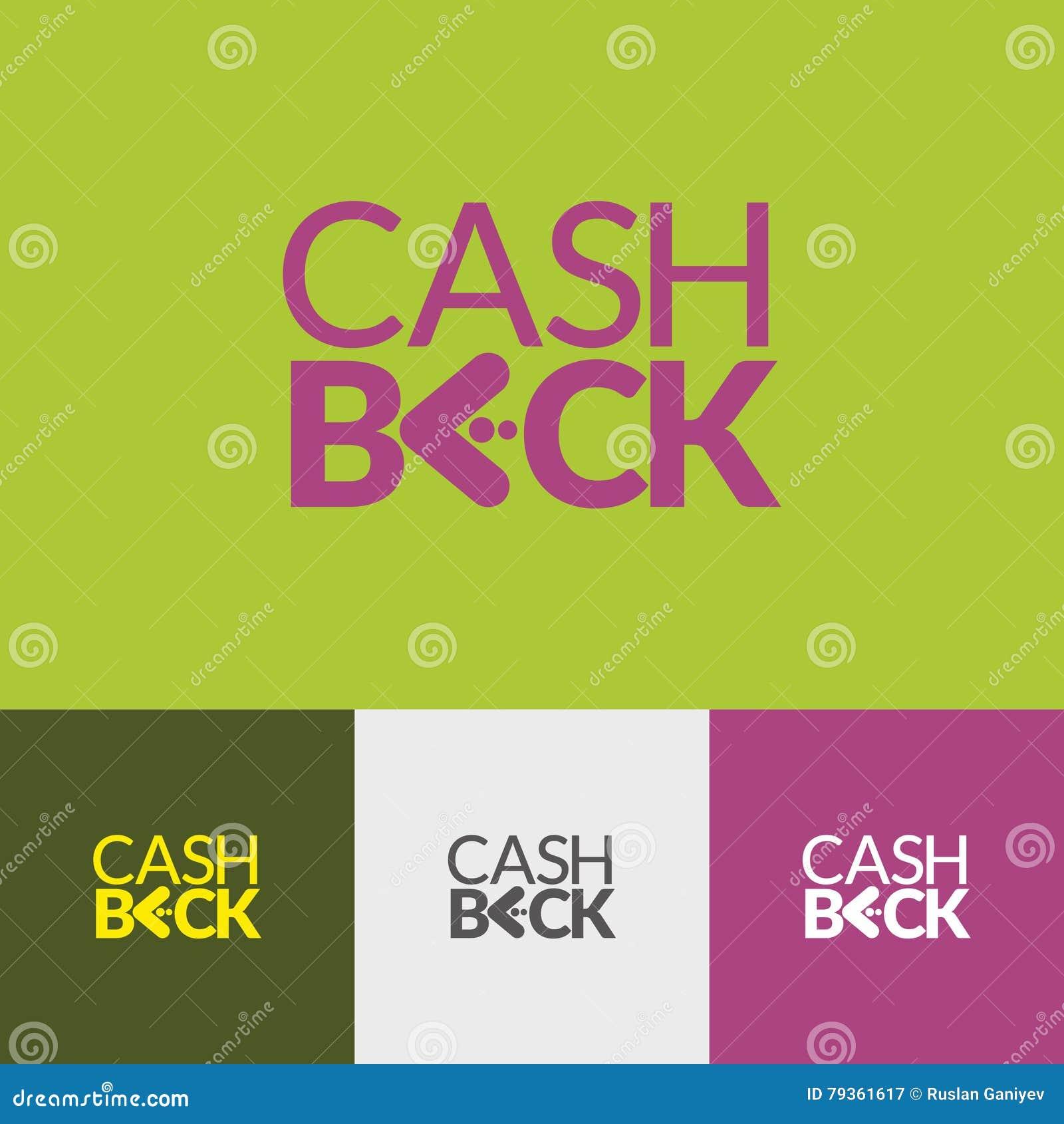 Задняя часть наличных денег логотипа