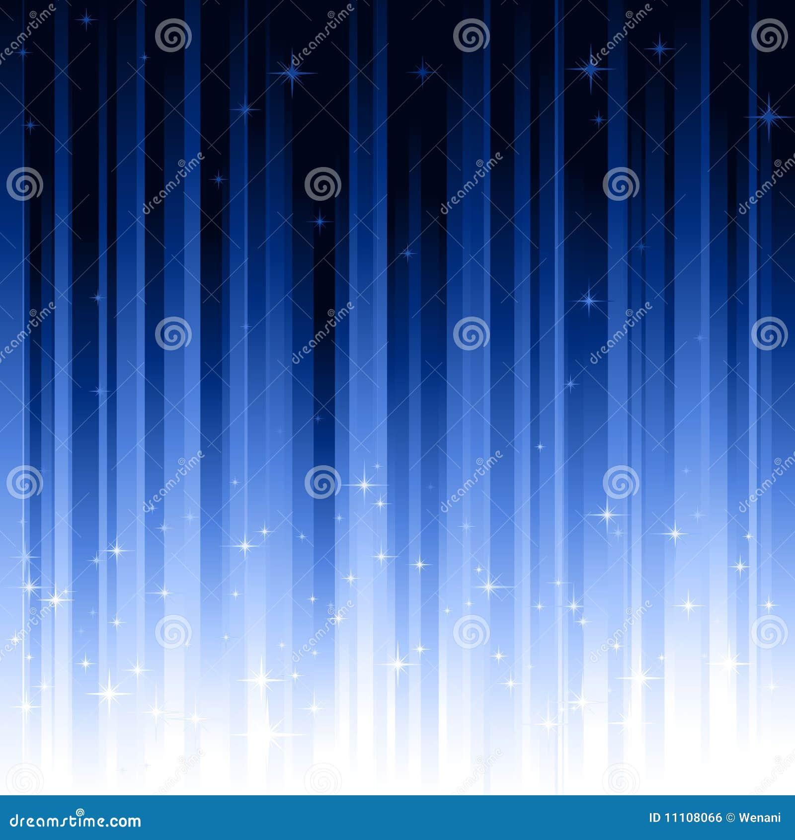звезды предпосылки голубые striped вертикально