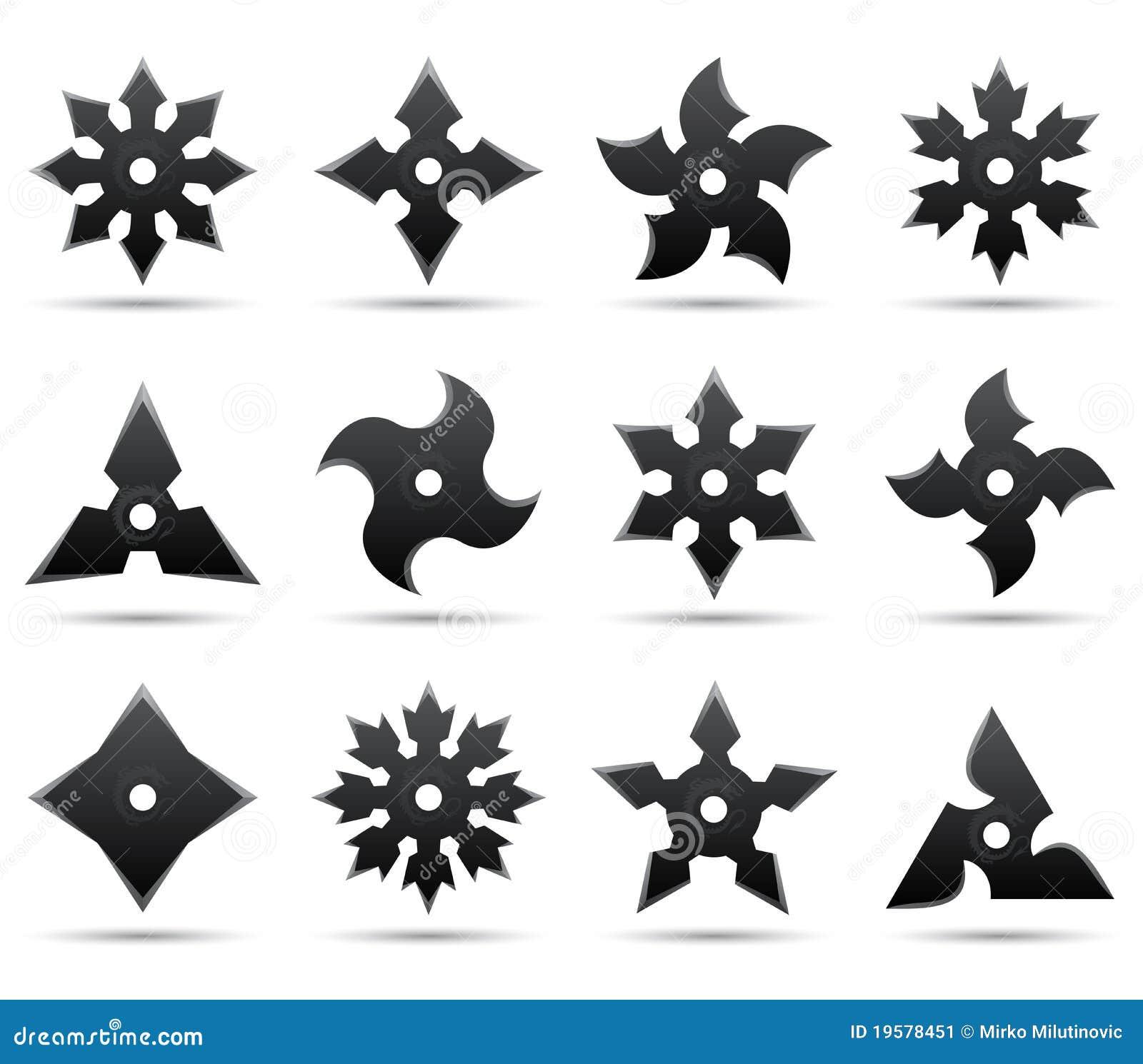 Звезды ниндзя размеры