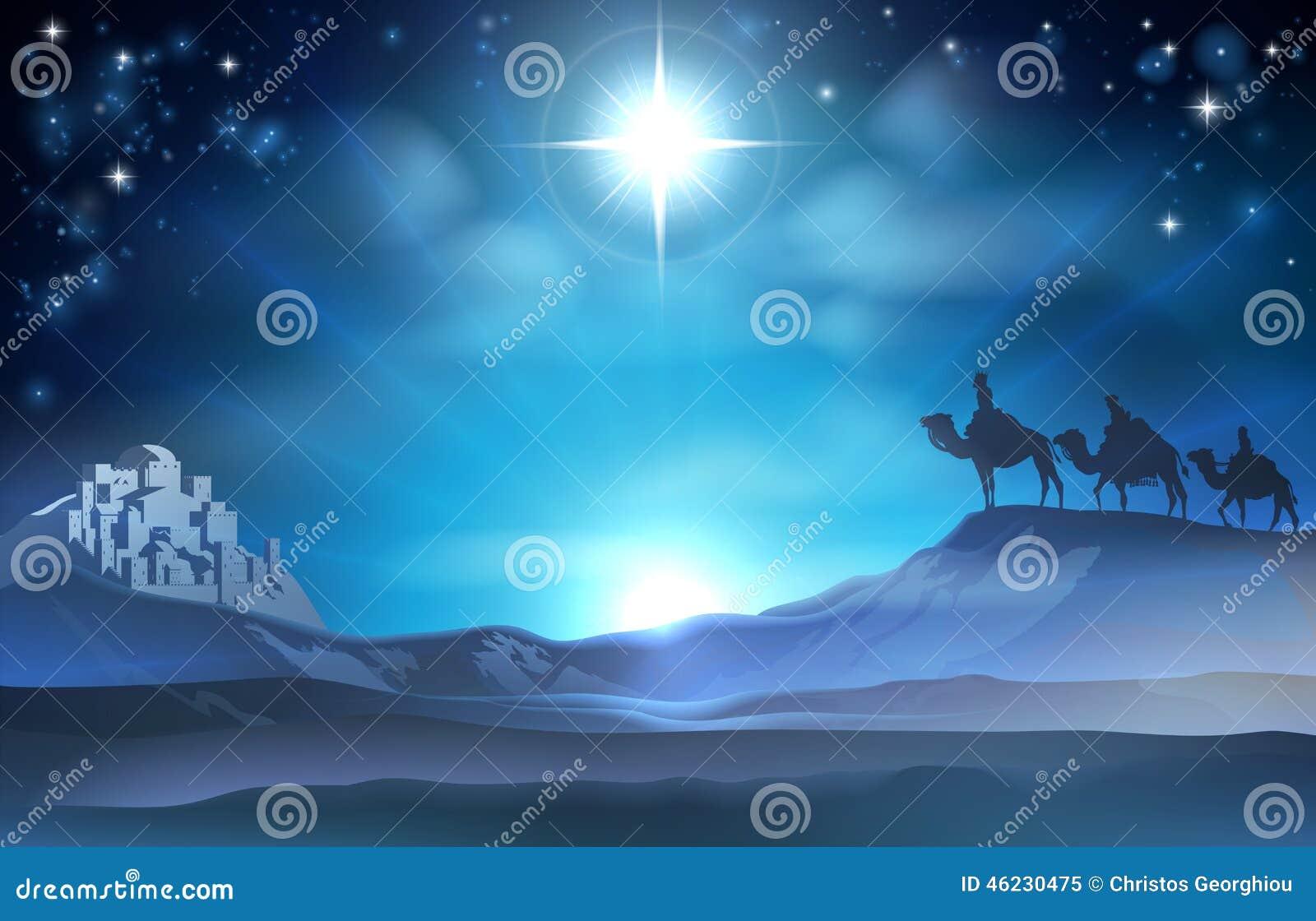 Звезда и мудрецы рождества рождества