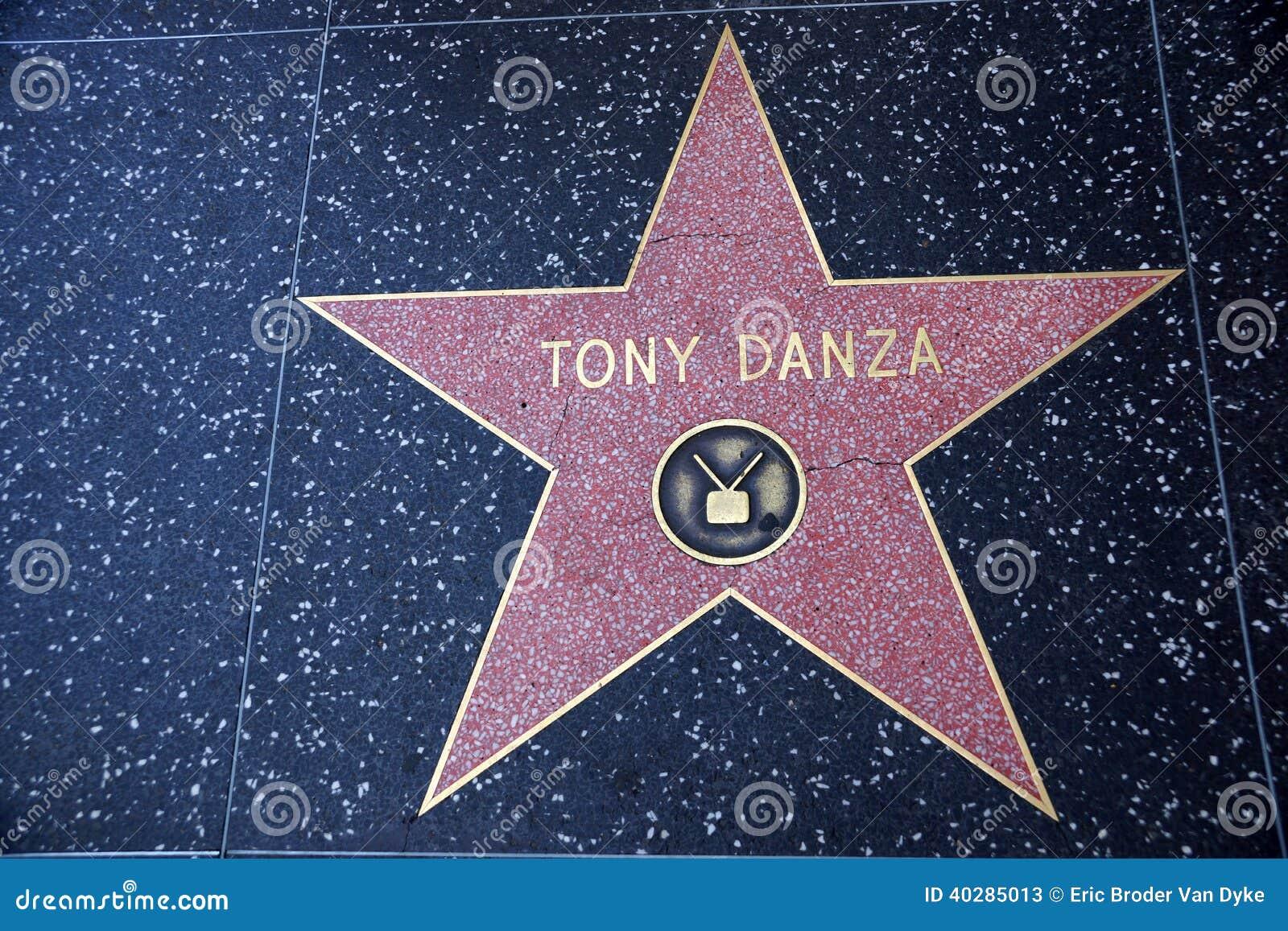 Звезда Тони Danza на прогулке Голливуда славы