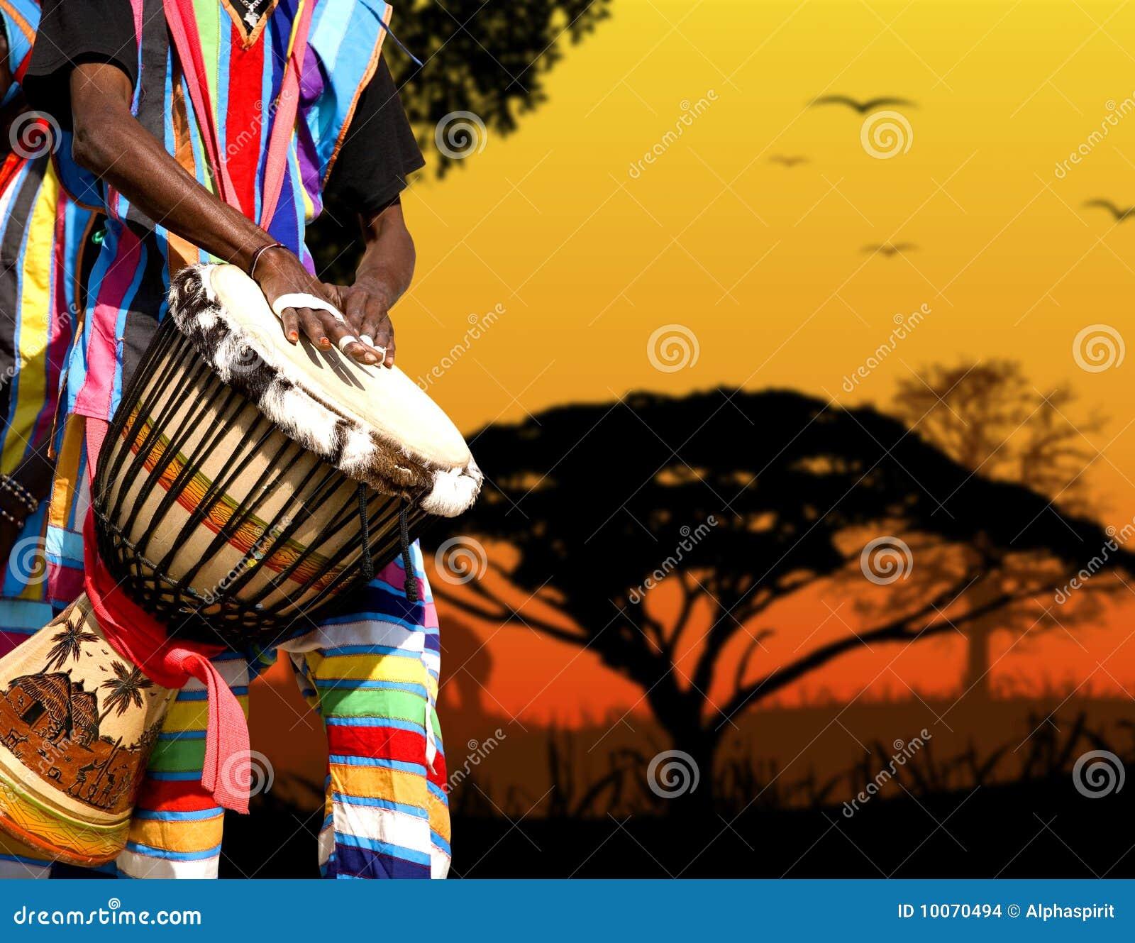 скачать звук африки