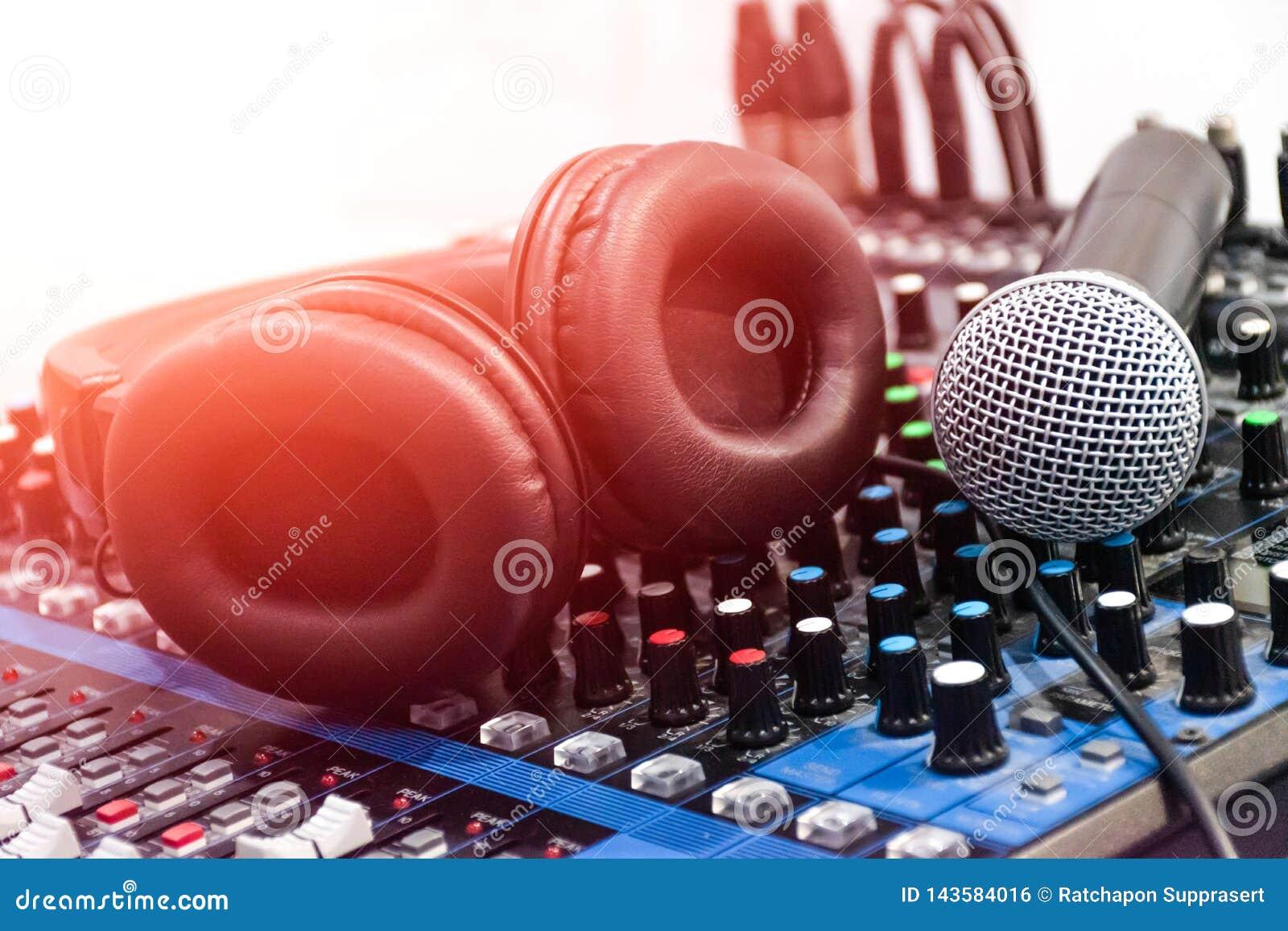 Звук смесителя аудио