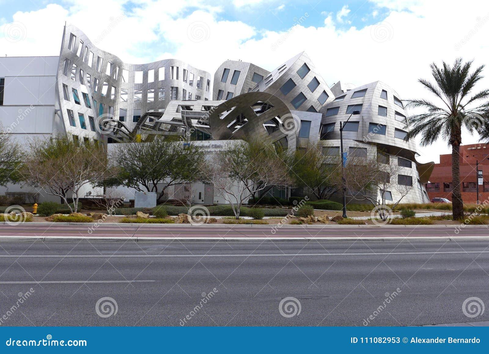 Здание в городском Лас-Вегас