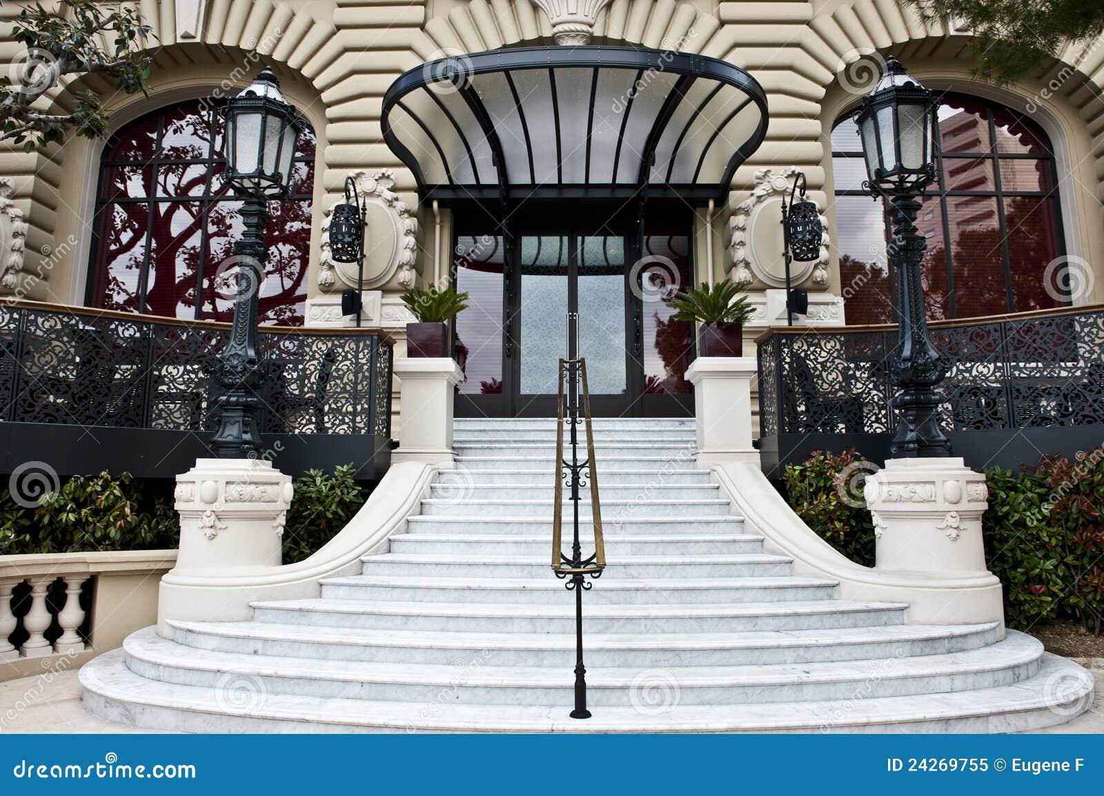 здание Монако ritzy