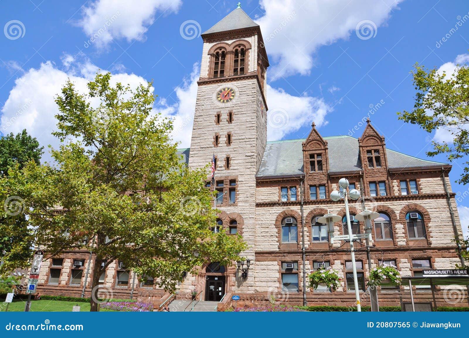 здание муниципалитет ma cambridge