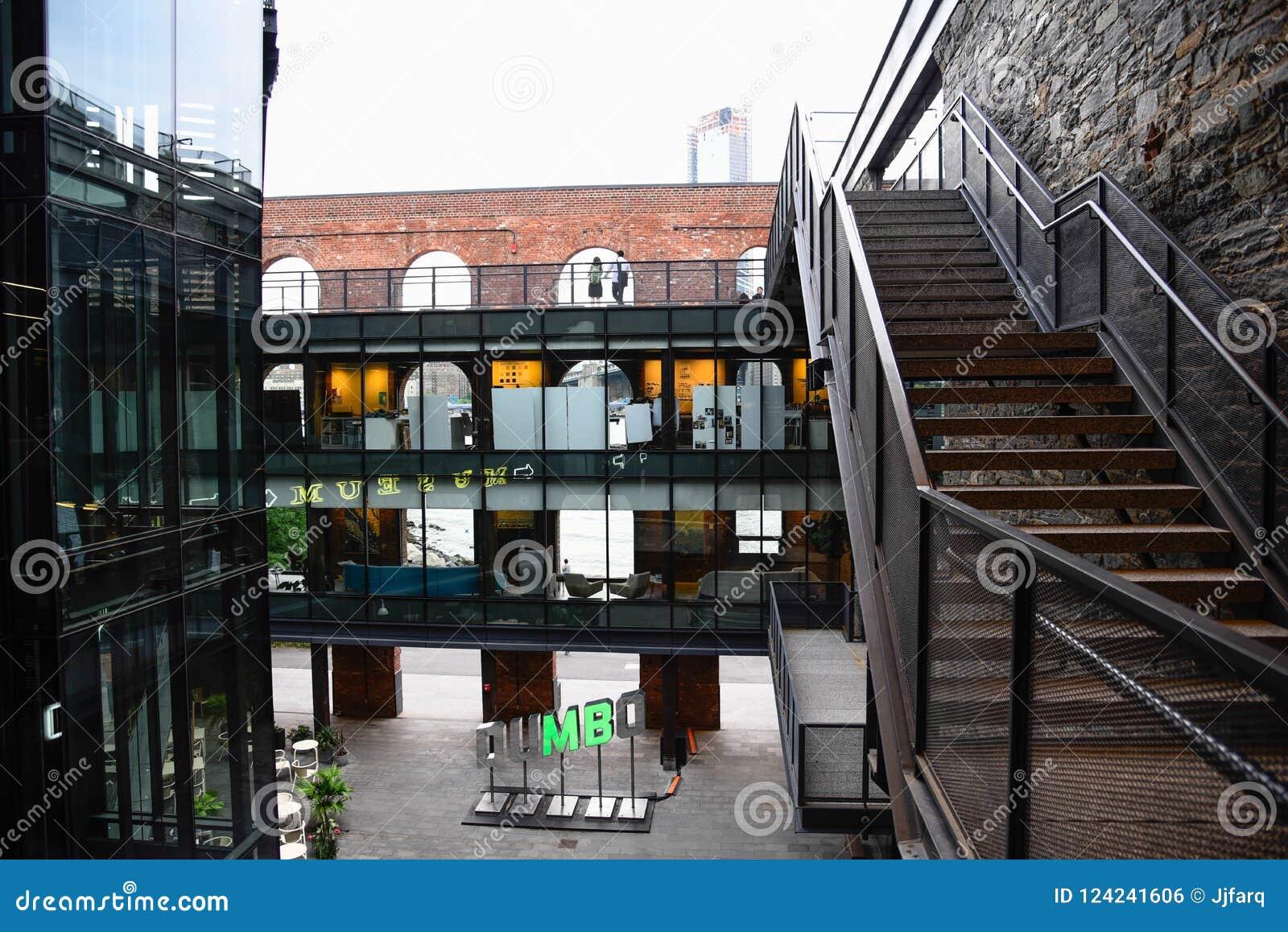 Здание DUMBO в Бруклине, Нью-Йорке