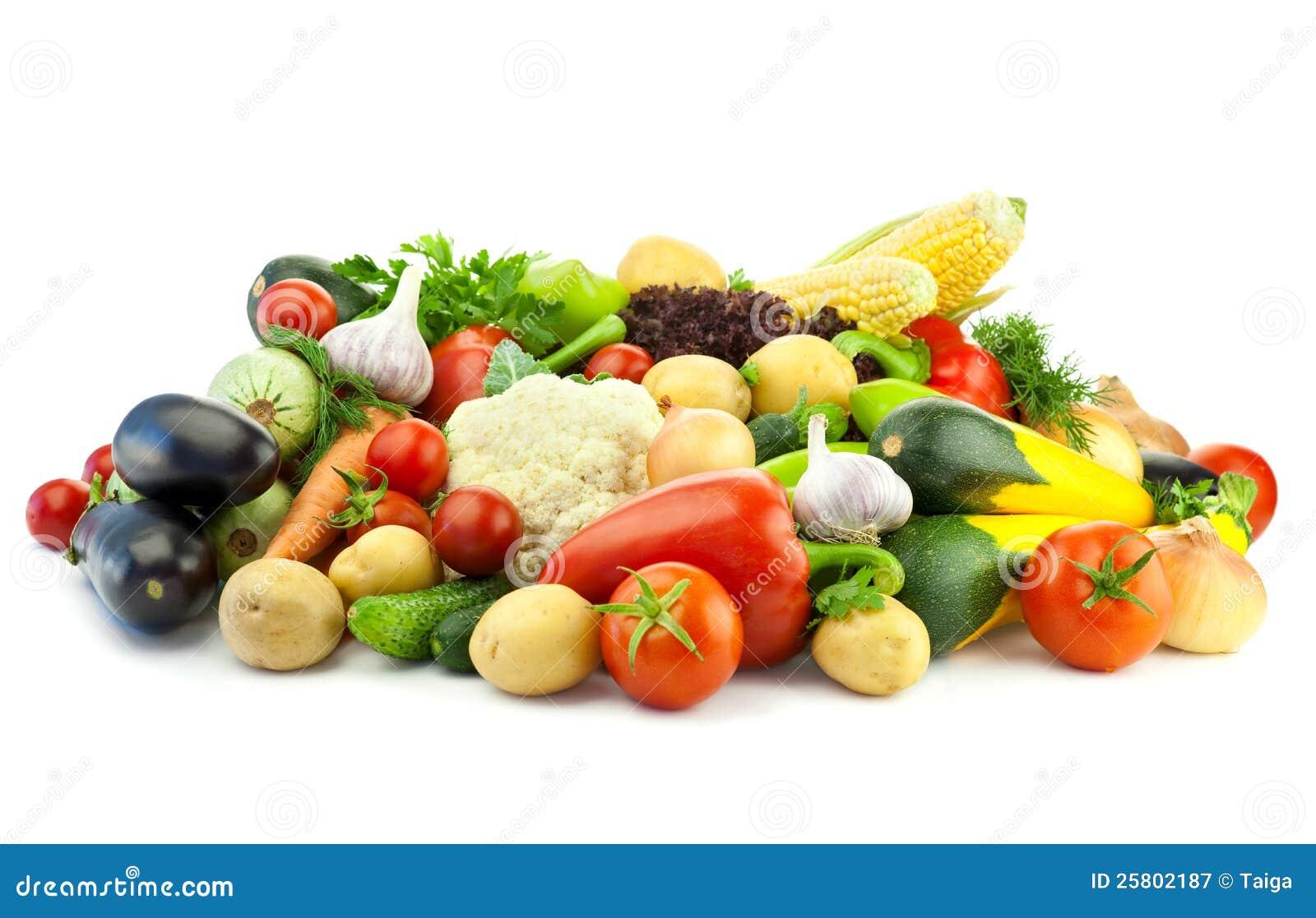 Здоровая еда/ассортимент органических овощей