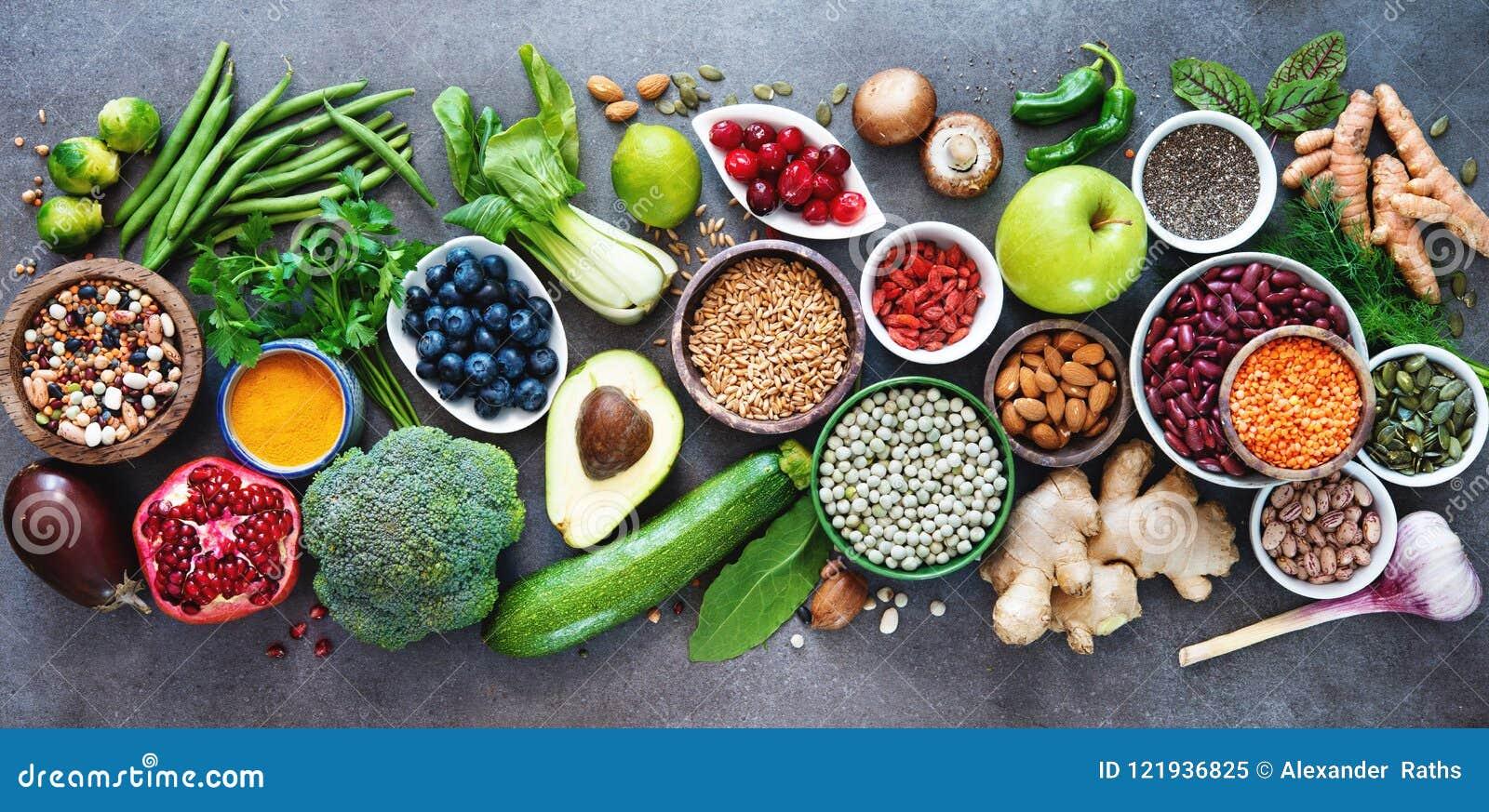 Здоровый выбор еды